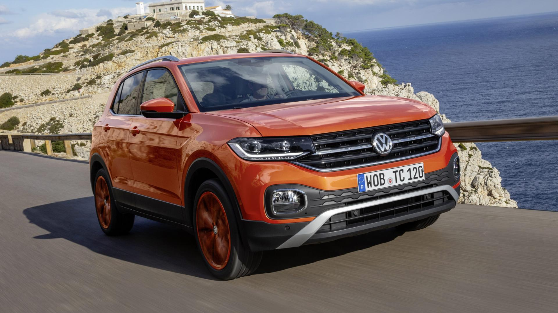 volkswagen t cross 1 0 tsi 115 pk style 2019 test en. Black Bedroom Furniture Sets. Home Design Ideas