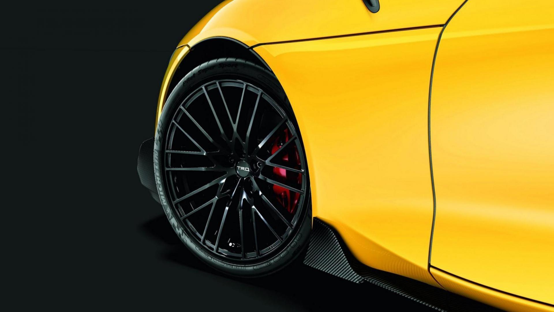 Toyota Supra TRD-onderdelen velgen