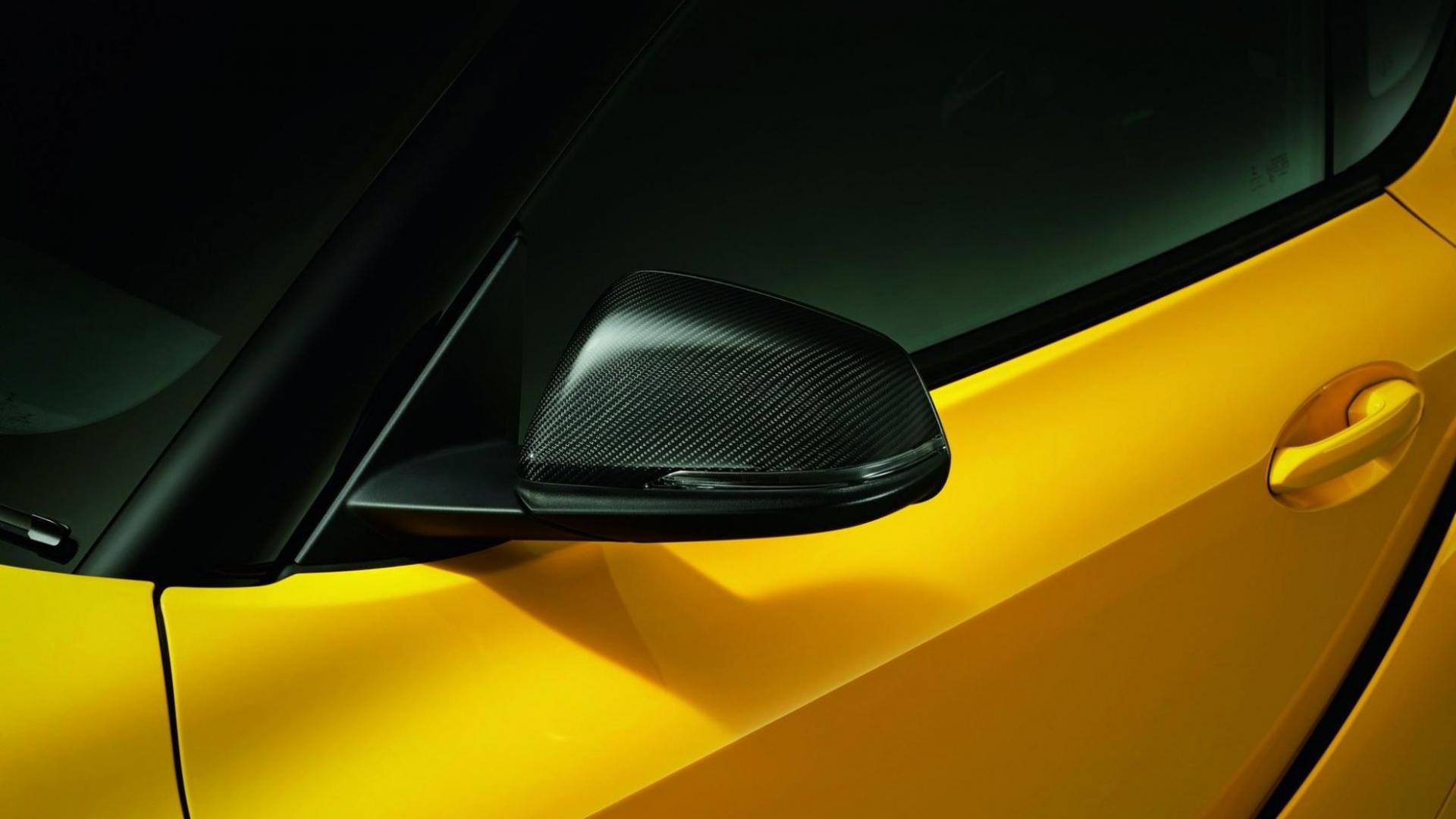 Toyota Supra TRD-onderdelen buitenspiegel