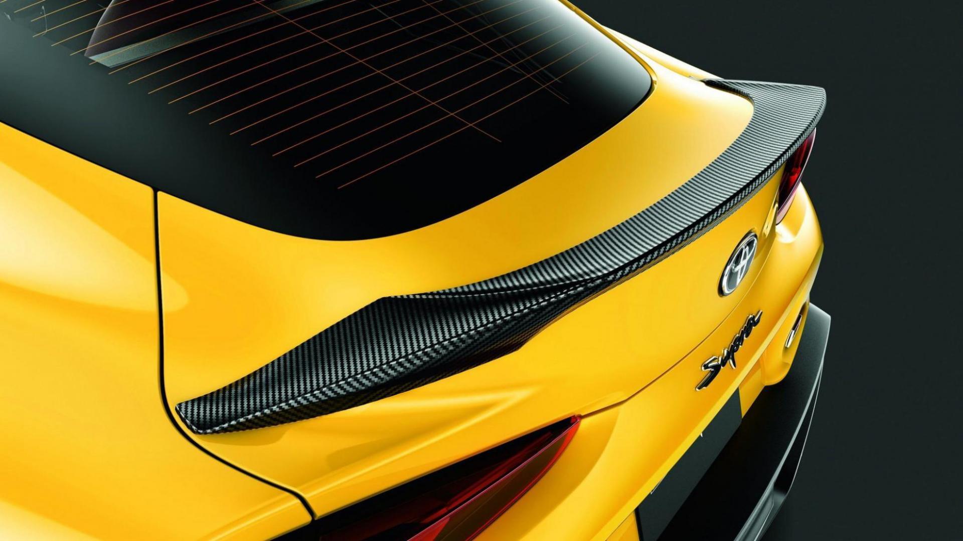 Toyota Supra TRD-onderdelen spoiler