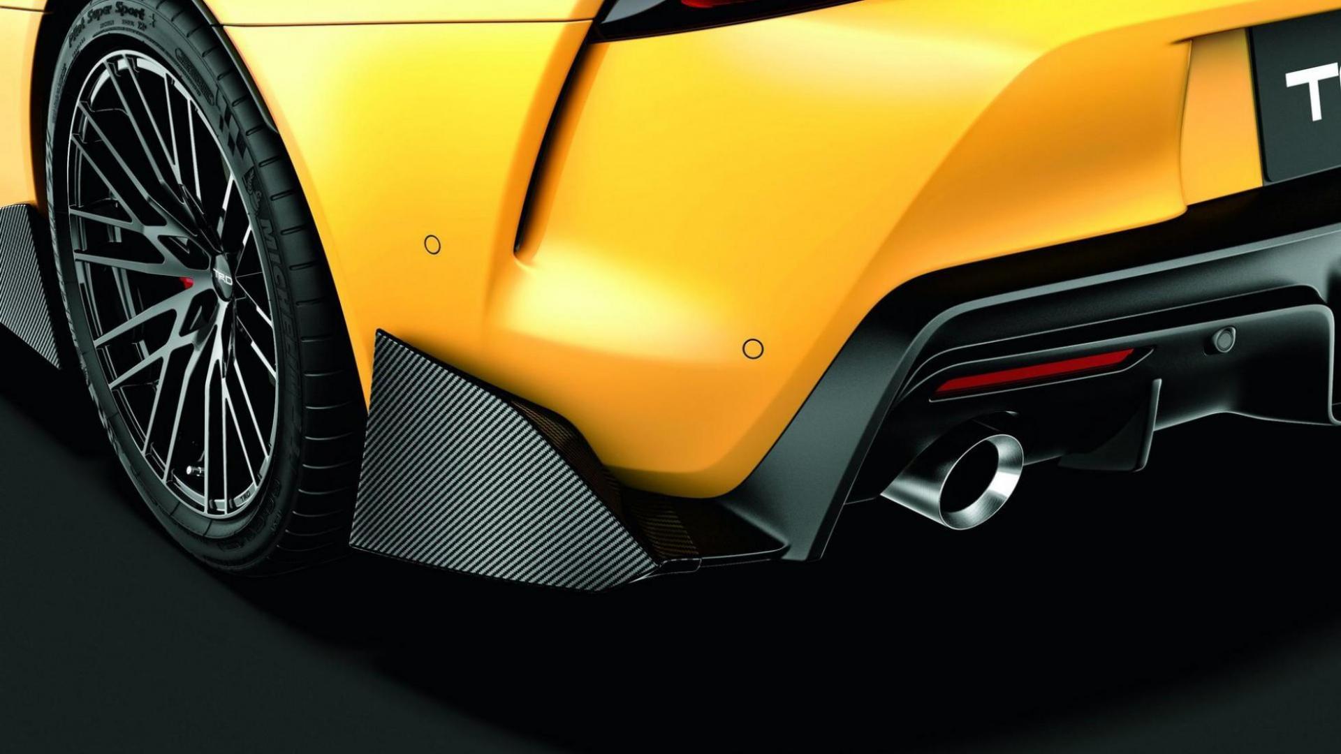 Toyota Supra TRD-onderdelen zijskirt