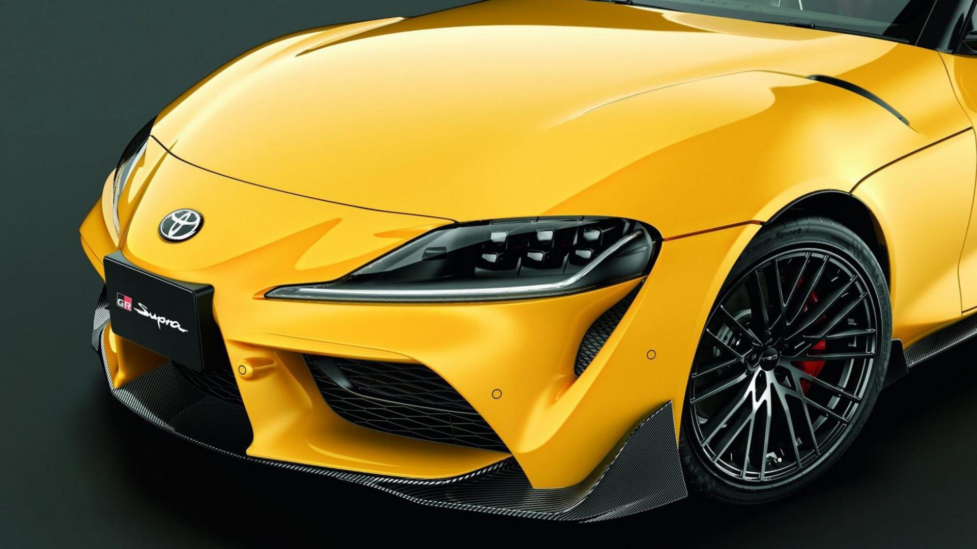 Toyota Supra TRD-onderdelen spoiler voor