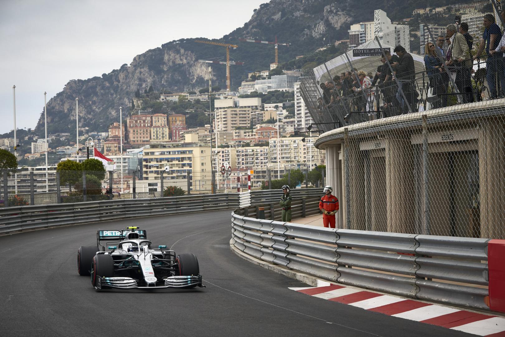 3e vrije training van de GP van Monaco 2019