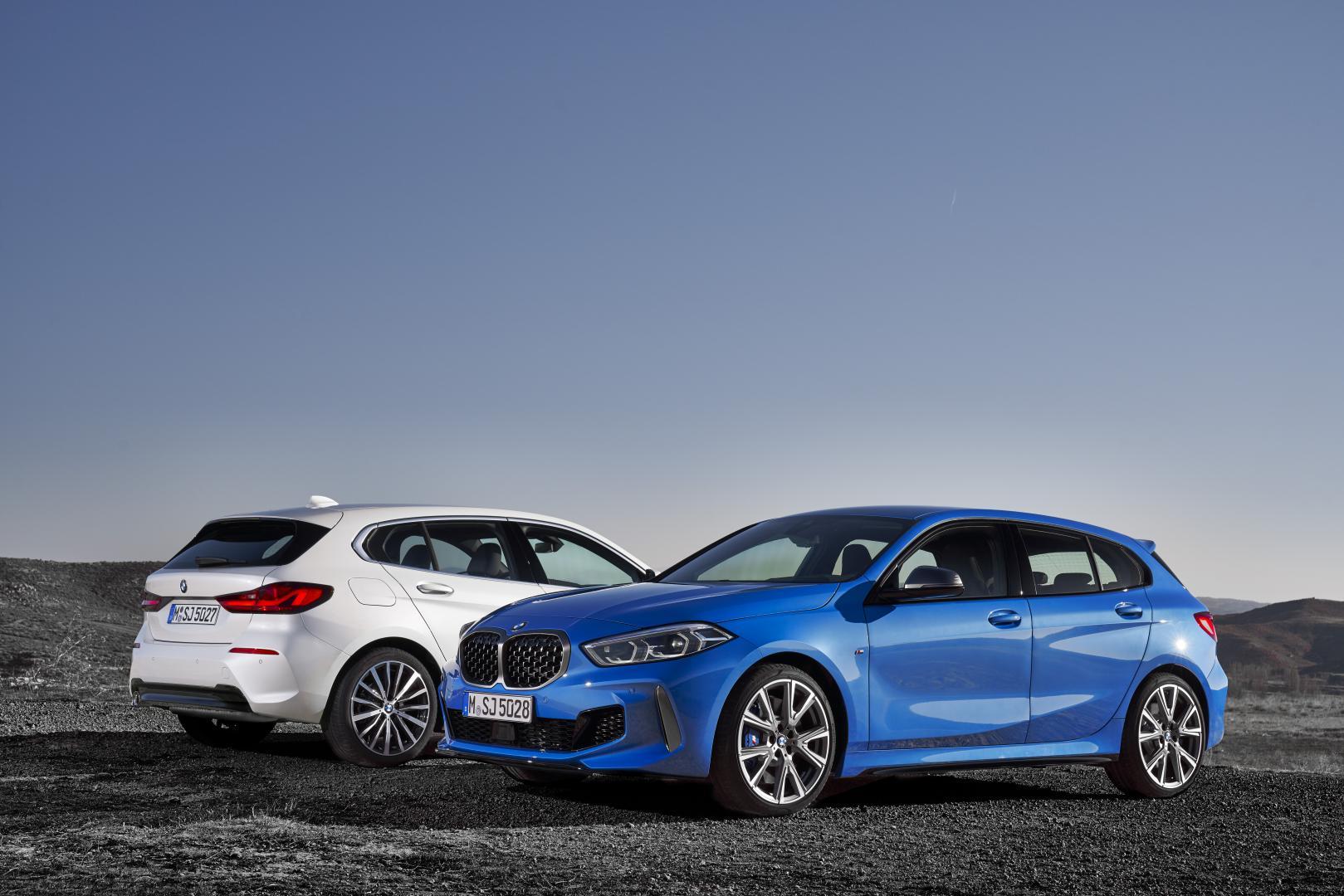 BMW M135i en BMW 118