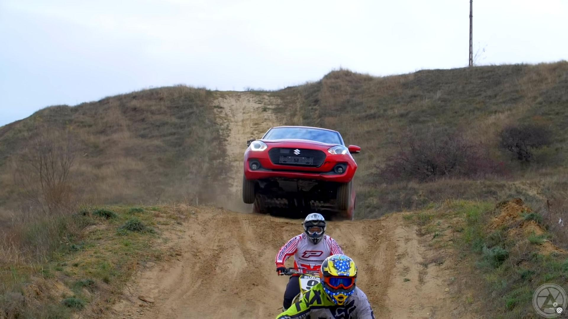 Meest afgetrapte Suzuki Swift ter wereld sprong