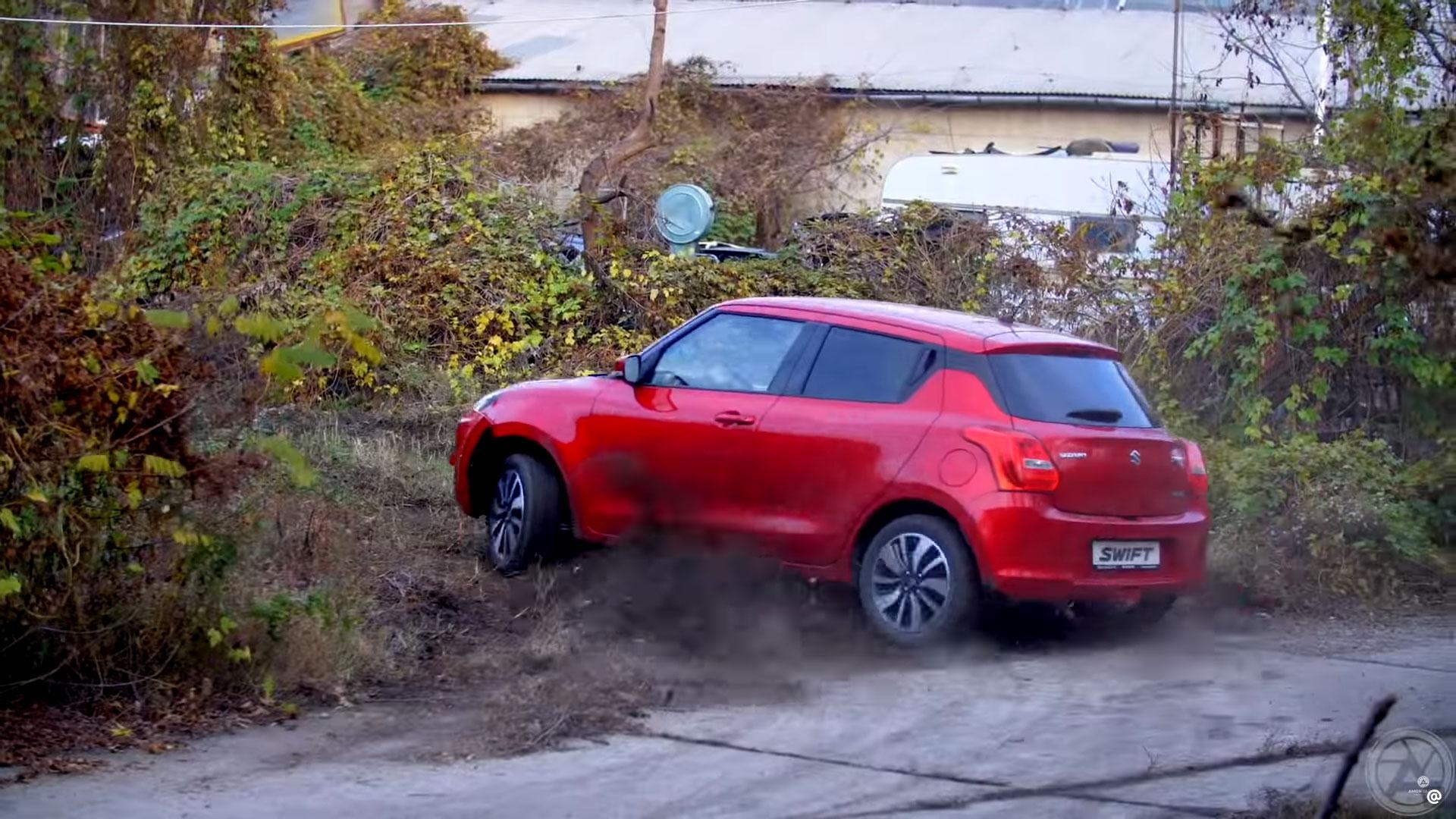 Meest afgetrapte Suzuki Swift ter wereld