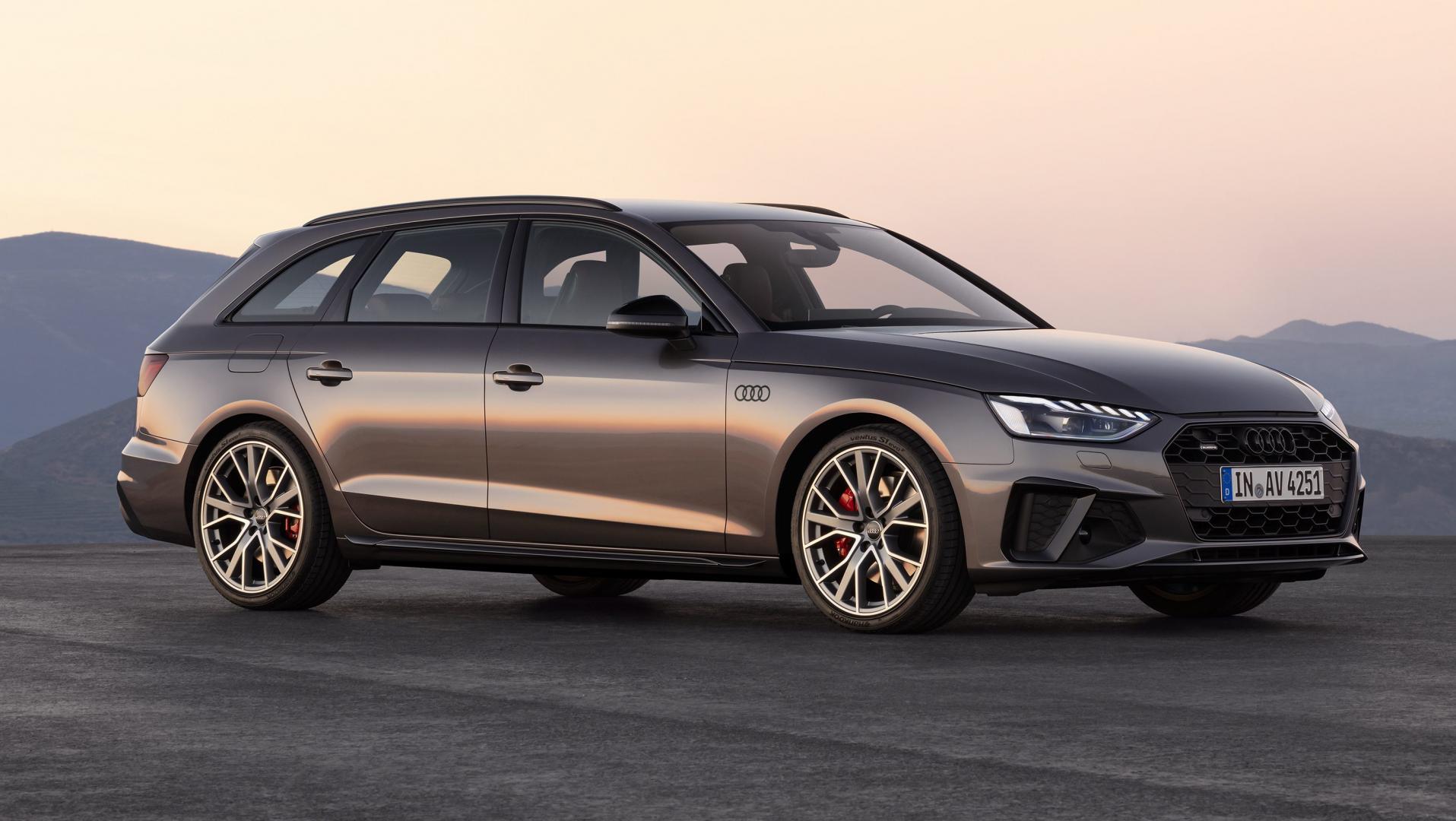 Audi A4 Avant facelift 2019 Terra gray
