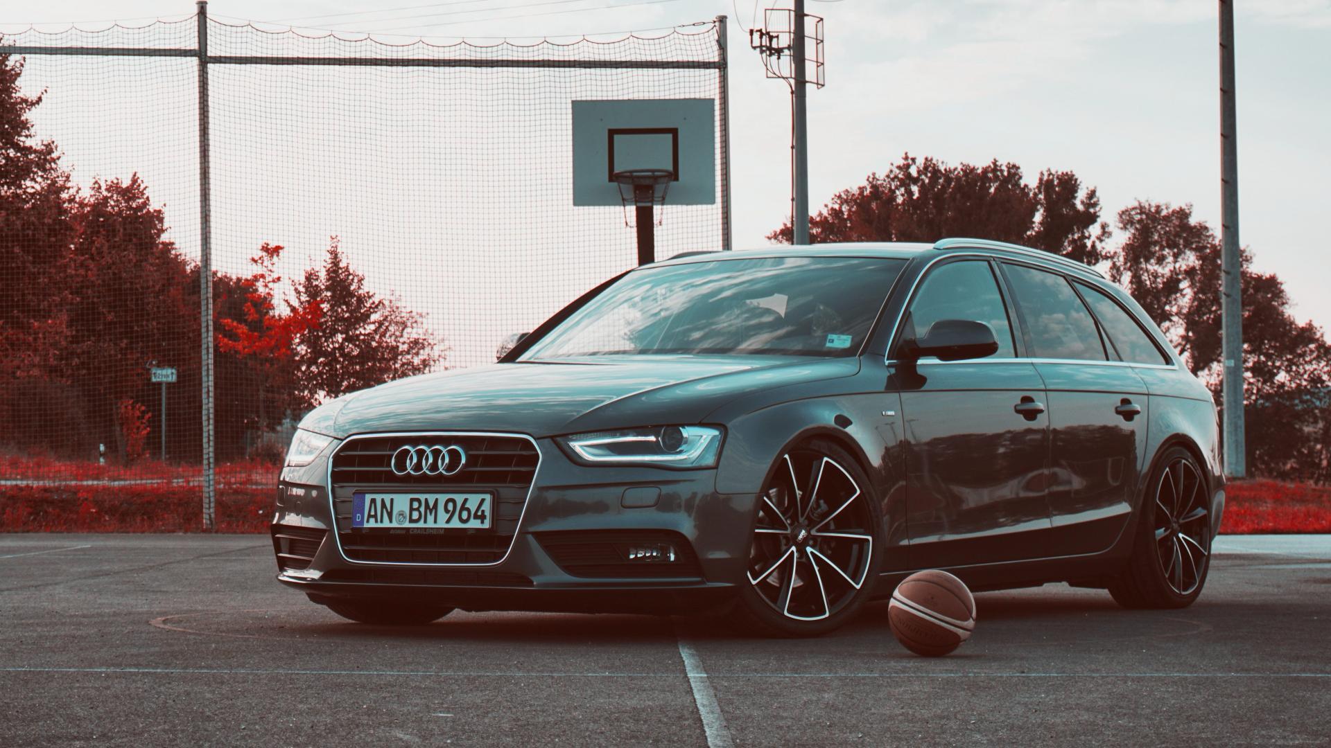 Audi A4 Avant basketbal