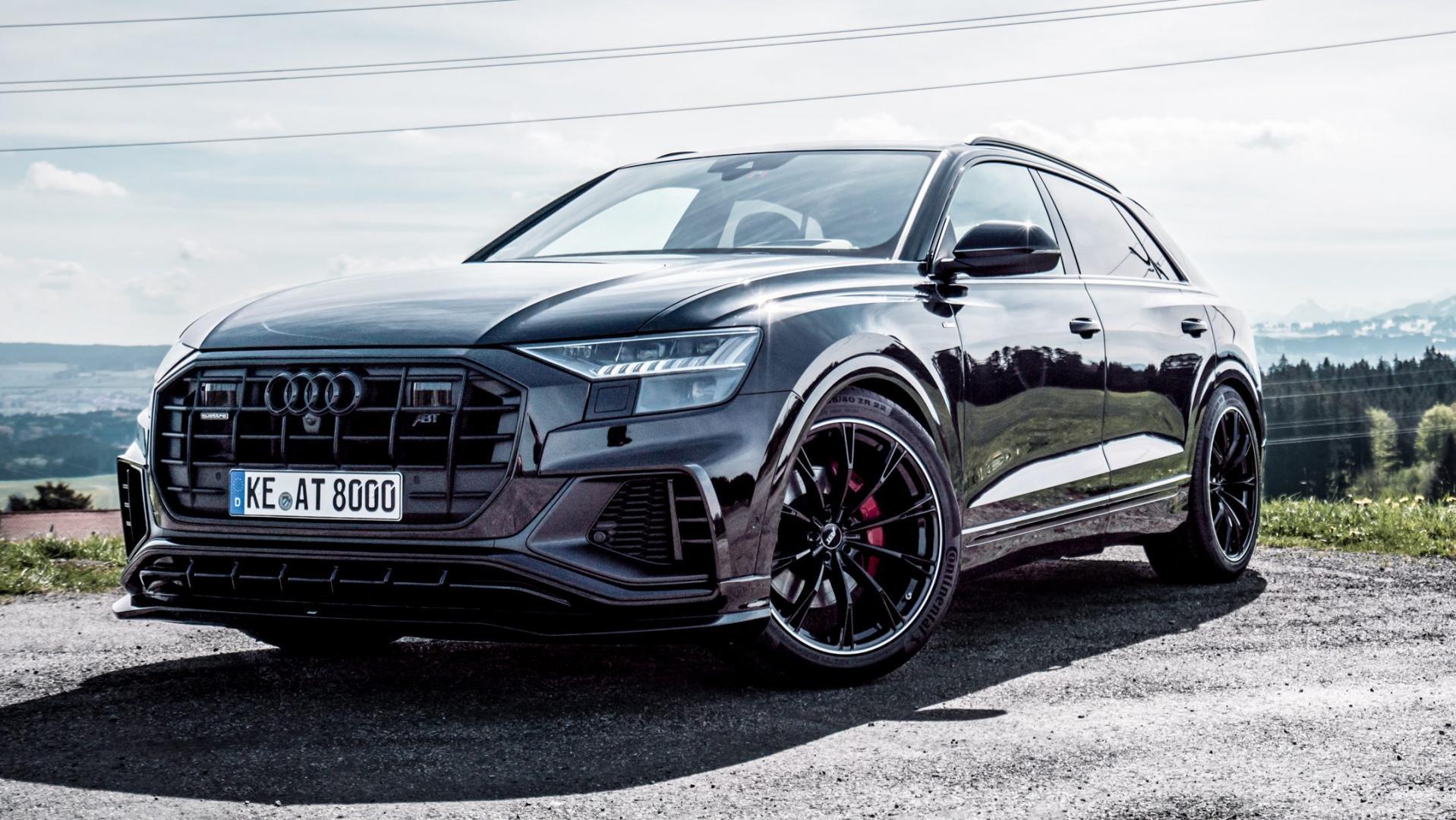 Audi Q8 met Abt Level Control
