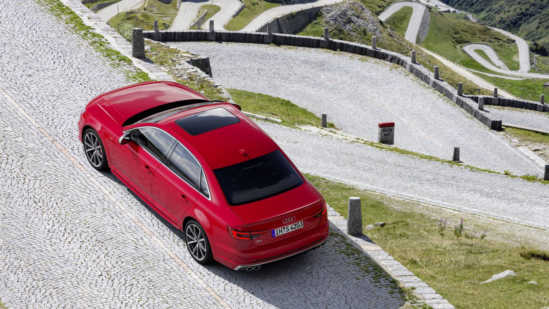 Audi S4 TDI Misano red
