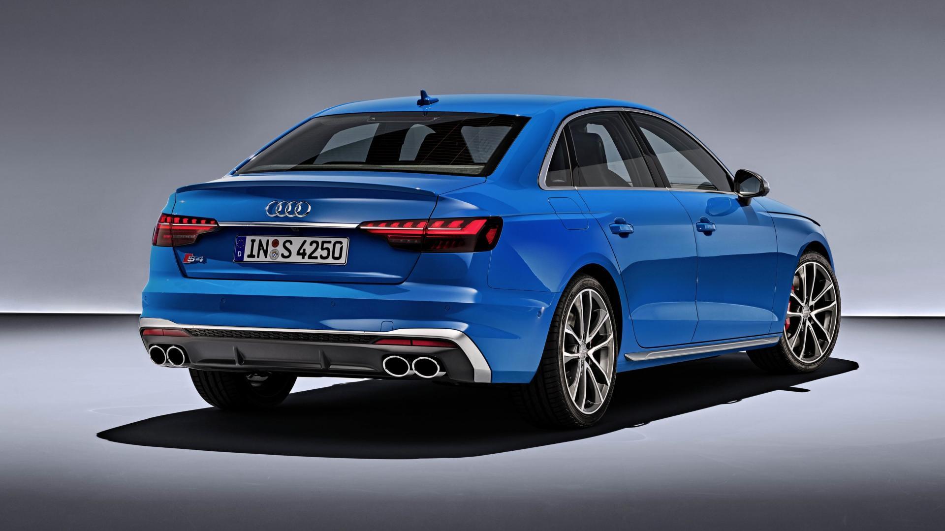 Audi S4 TDI Turboblau 2019blau 2019