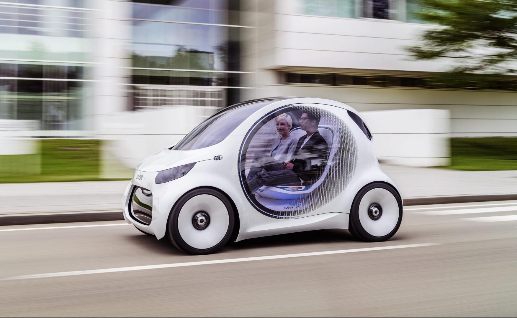 Autonoom rijden gaat niet werken - Smart Vision EQ Fortwo