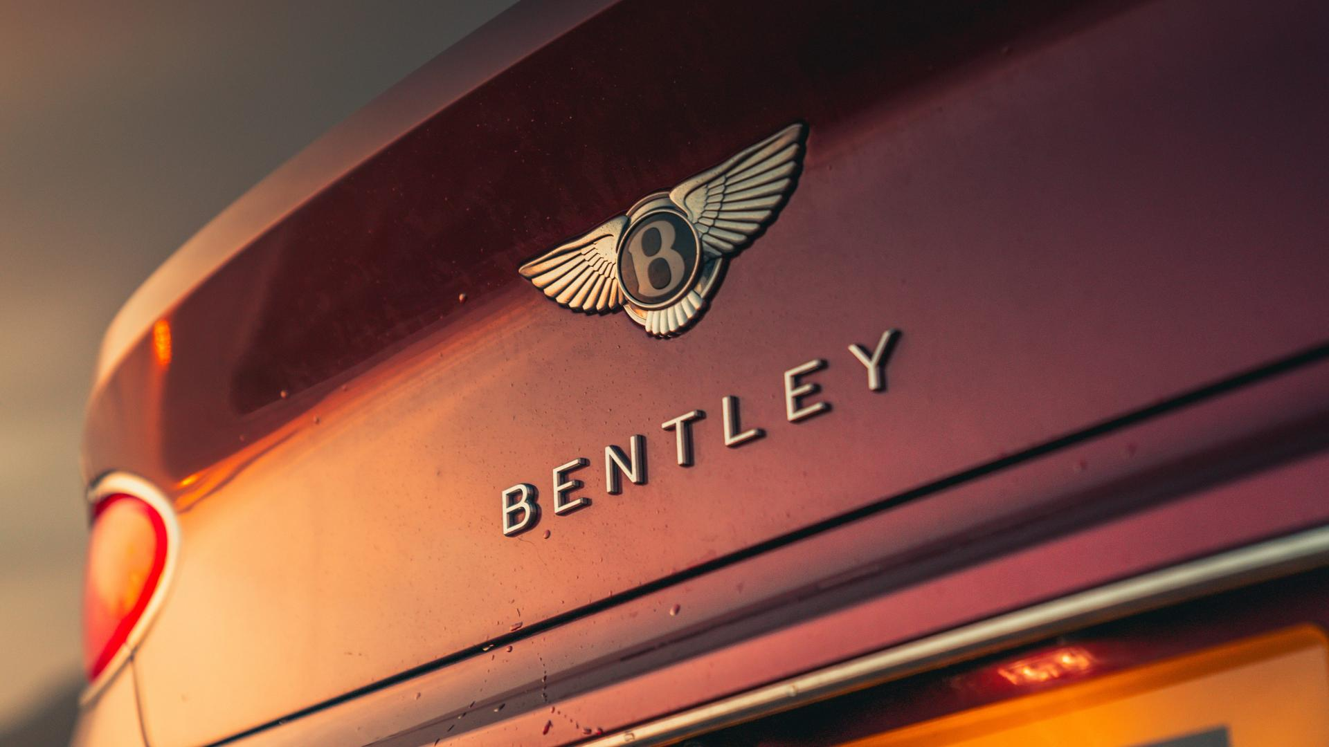 Bentley Continental GT achterklep badge