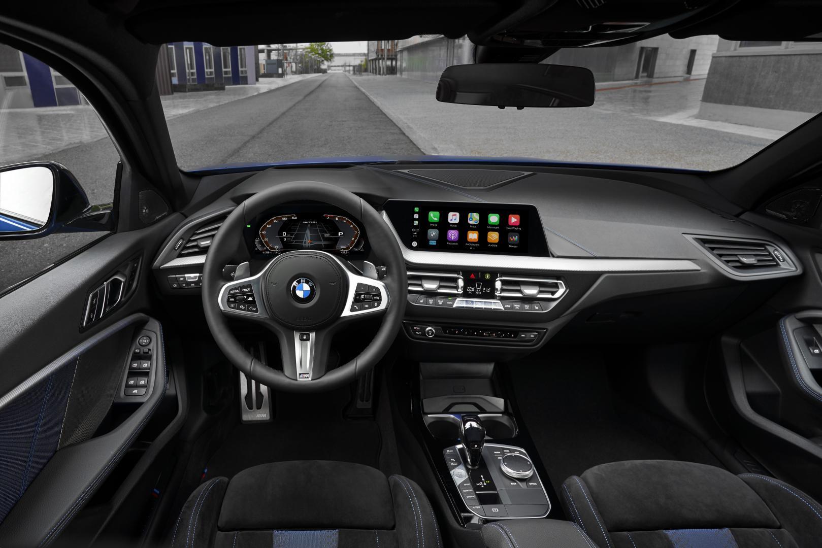 BMW M135i interieur