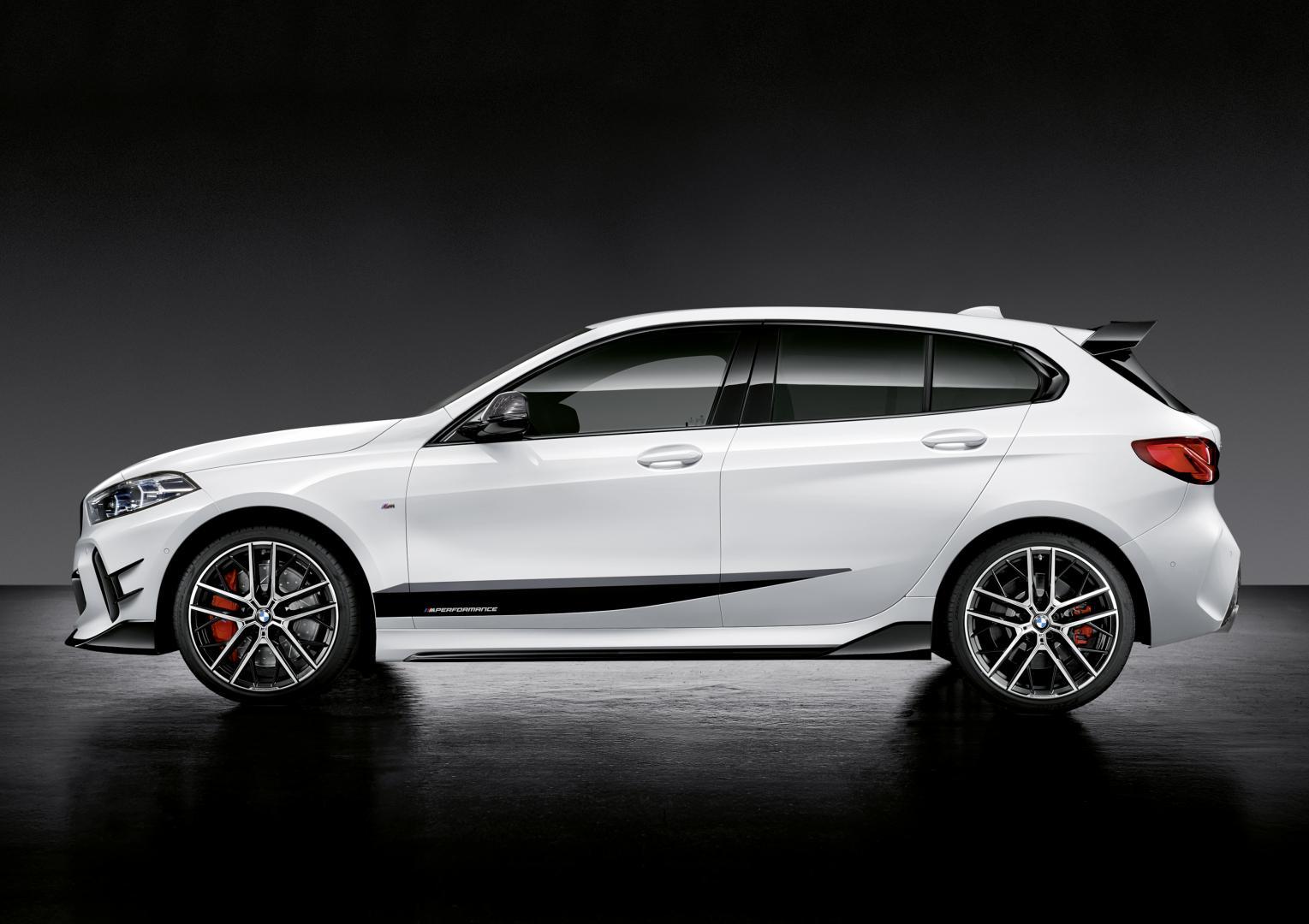 BMW 1-serie met M Performance-onderdelenv