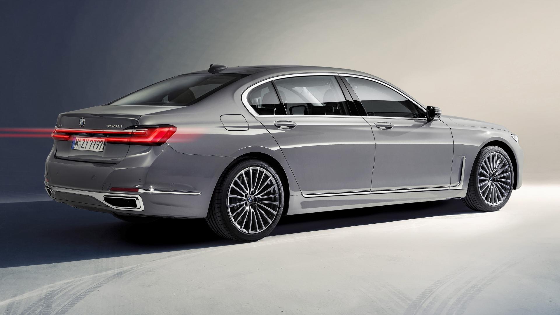 BMW 7-serie achterkant 2019