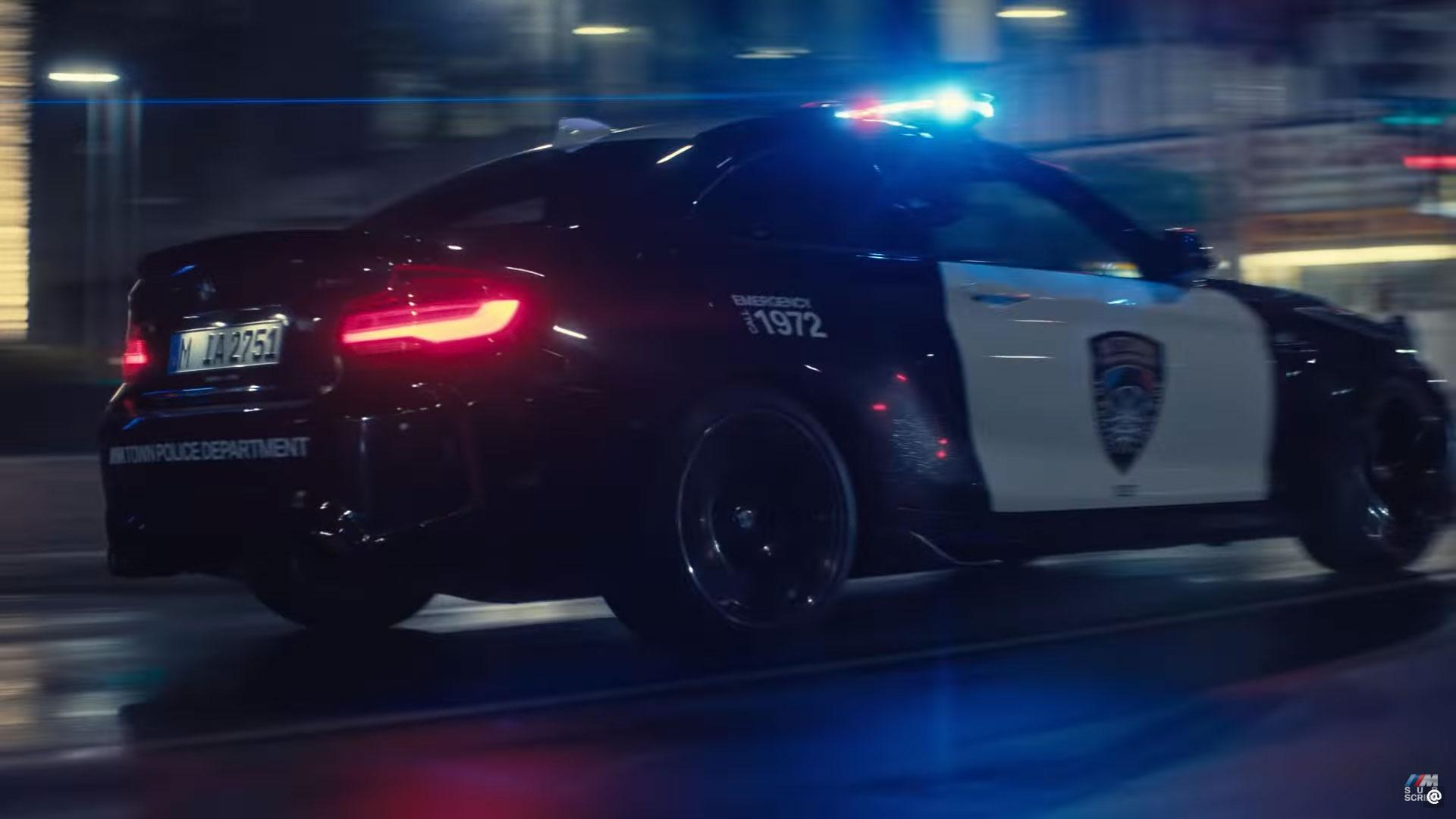 BMW M2-politieauto