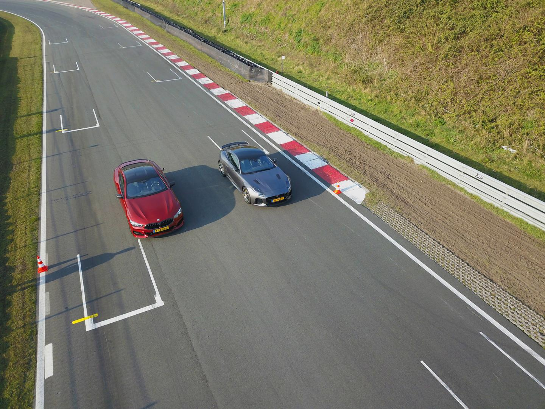 BMW M850i vs Jaguar F-Type SVR