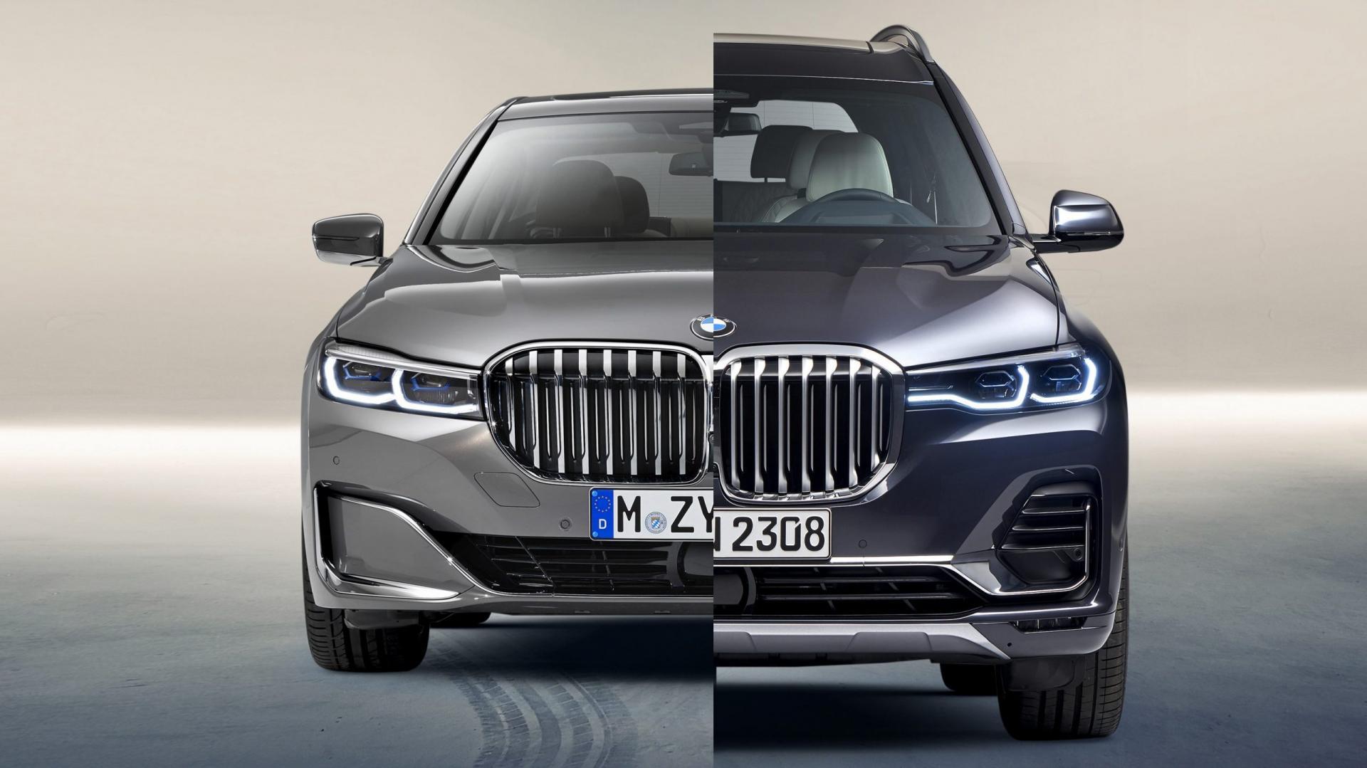 BMW X7 en 7-serie