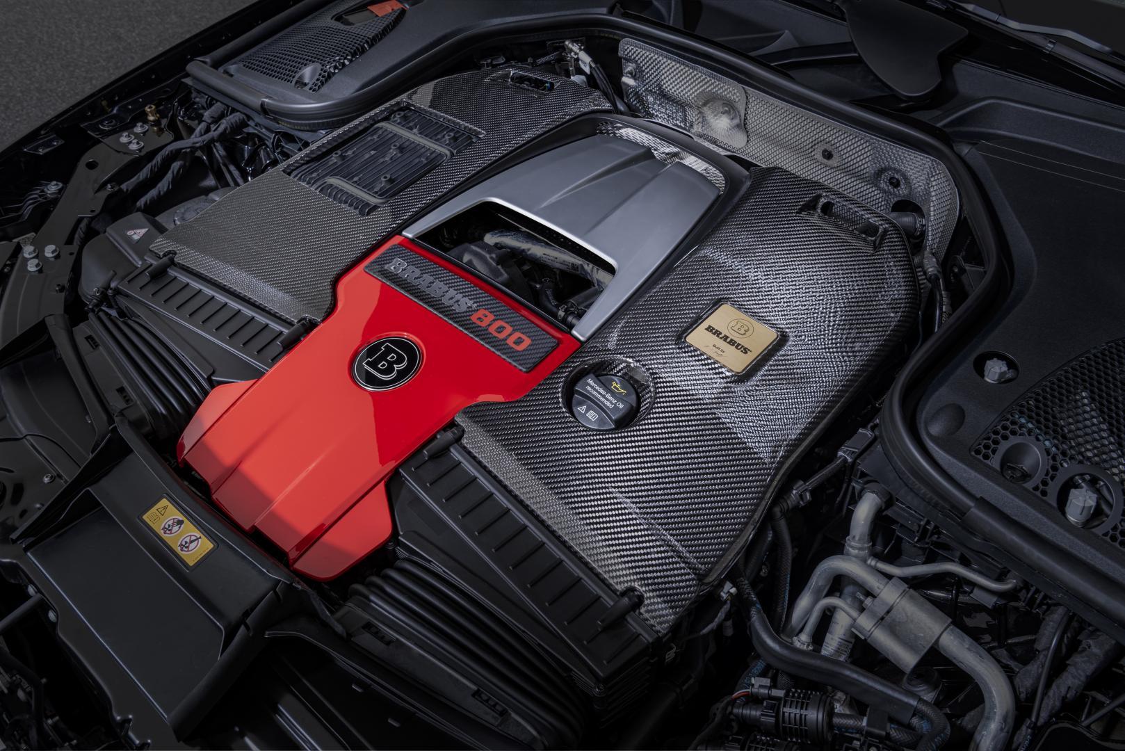 4.0 V8 mercedes-amg brabus-motor