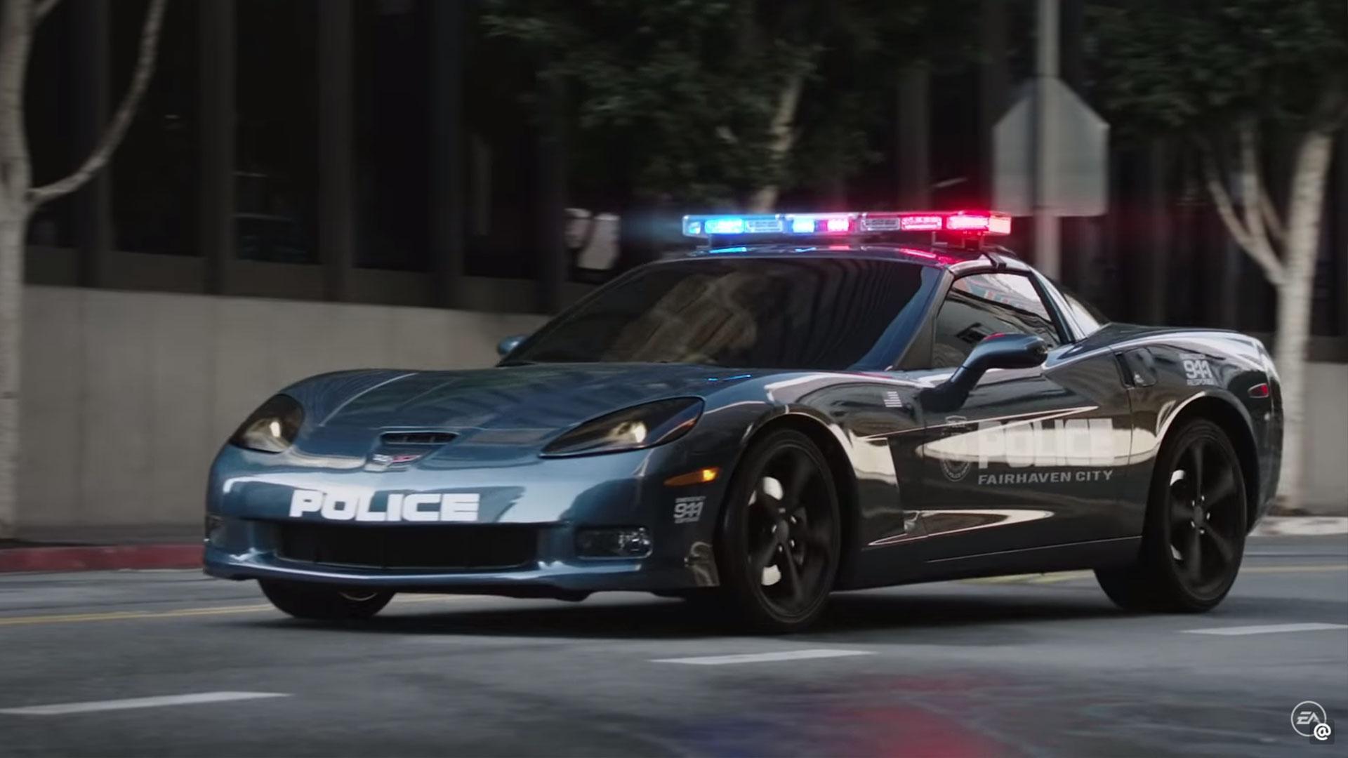 Chevrolet Corvette Politie Need for Speed