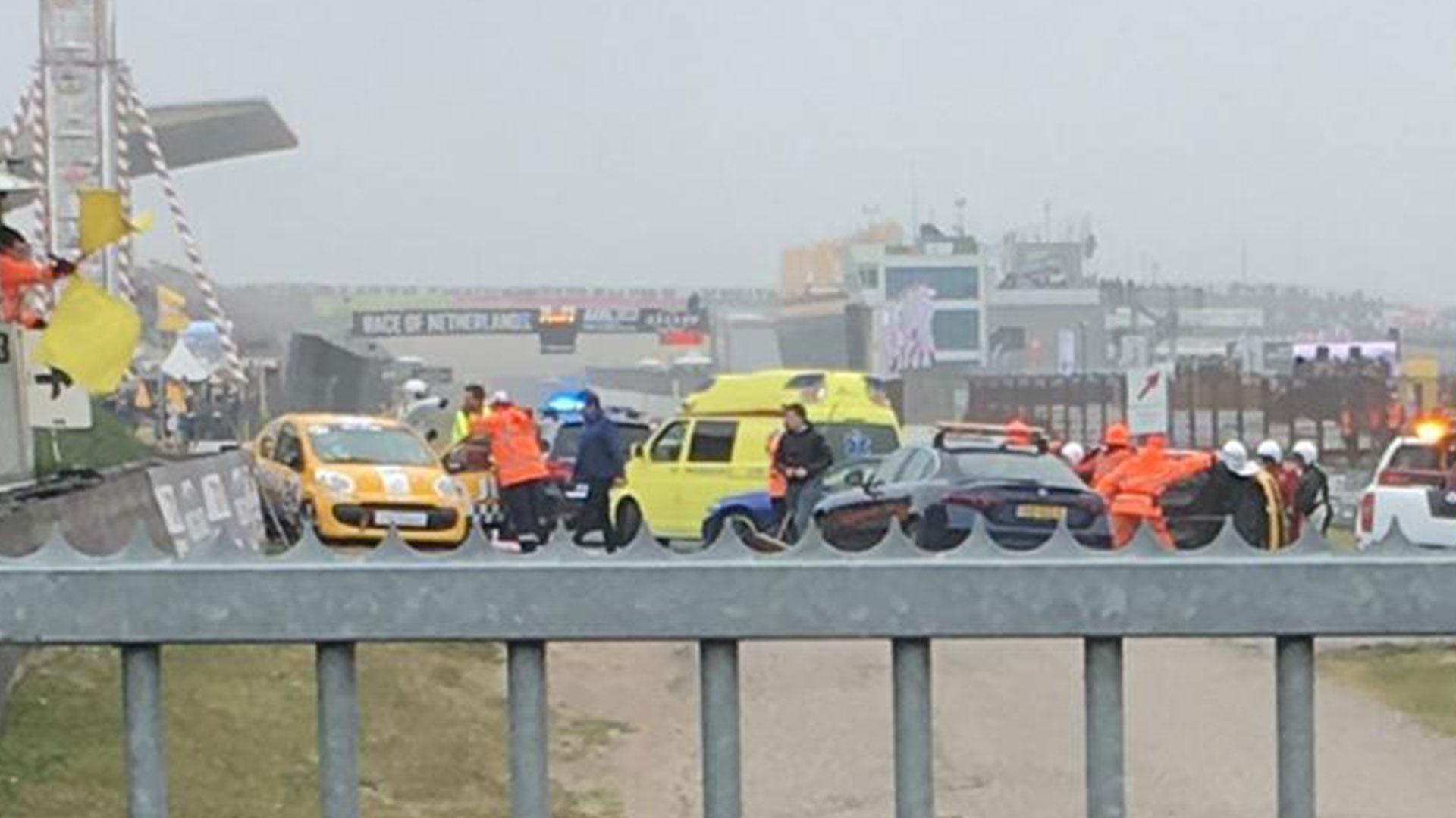 Romy Monteiro crasht tijdens Ladies GT op Zandvoort