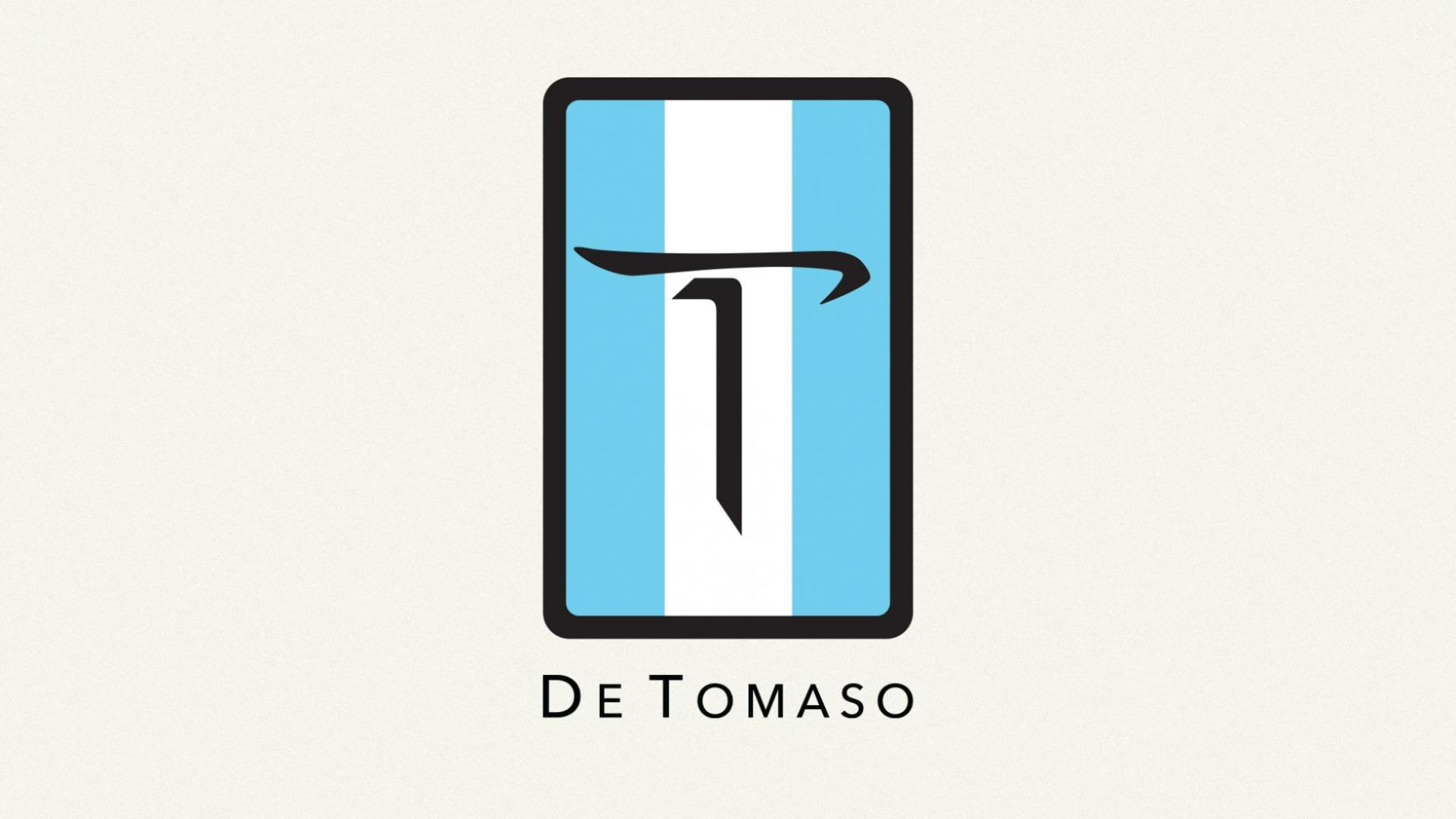 De Tomaso logo badge