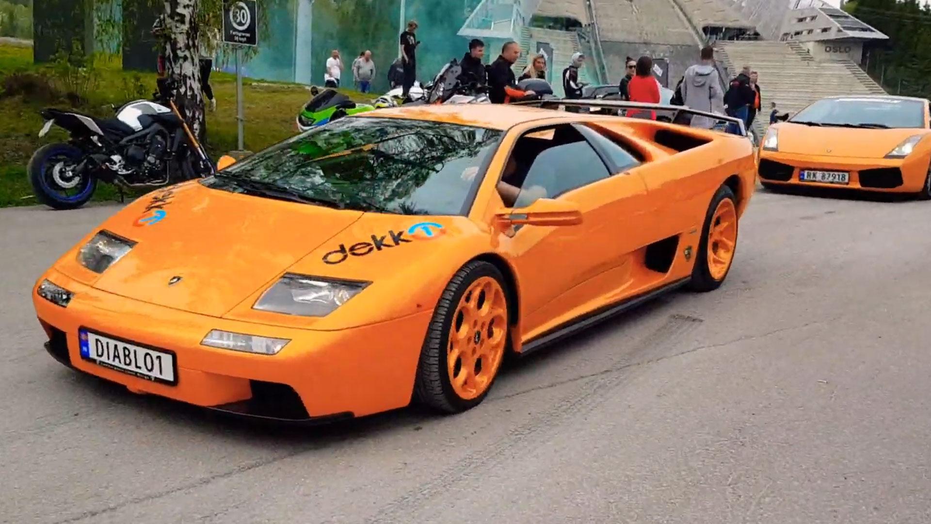 Lamborghini Diablo Gallardo Eurorally
