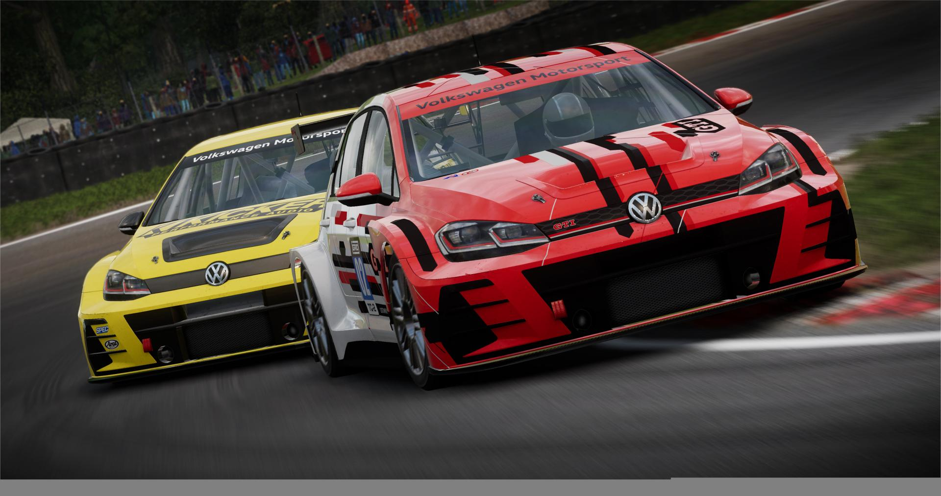 Grid Volkswagen GOlf GTI TCR
