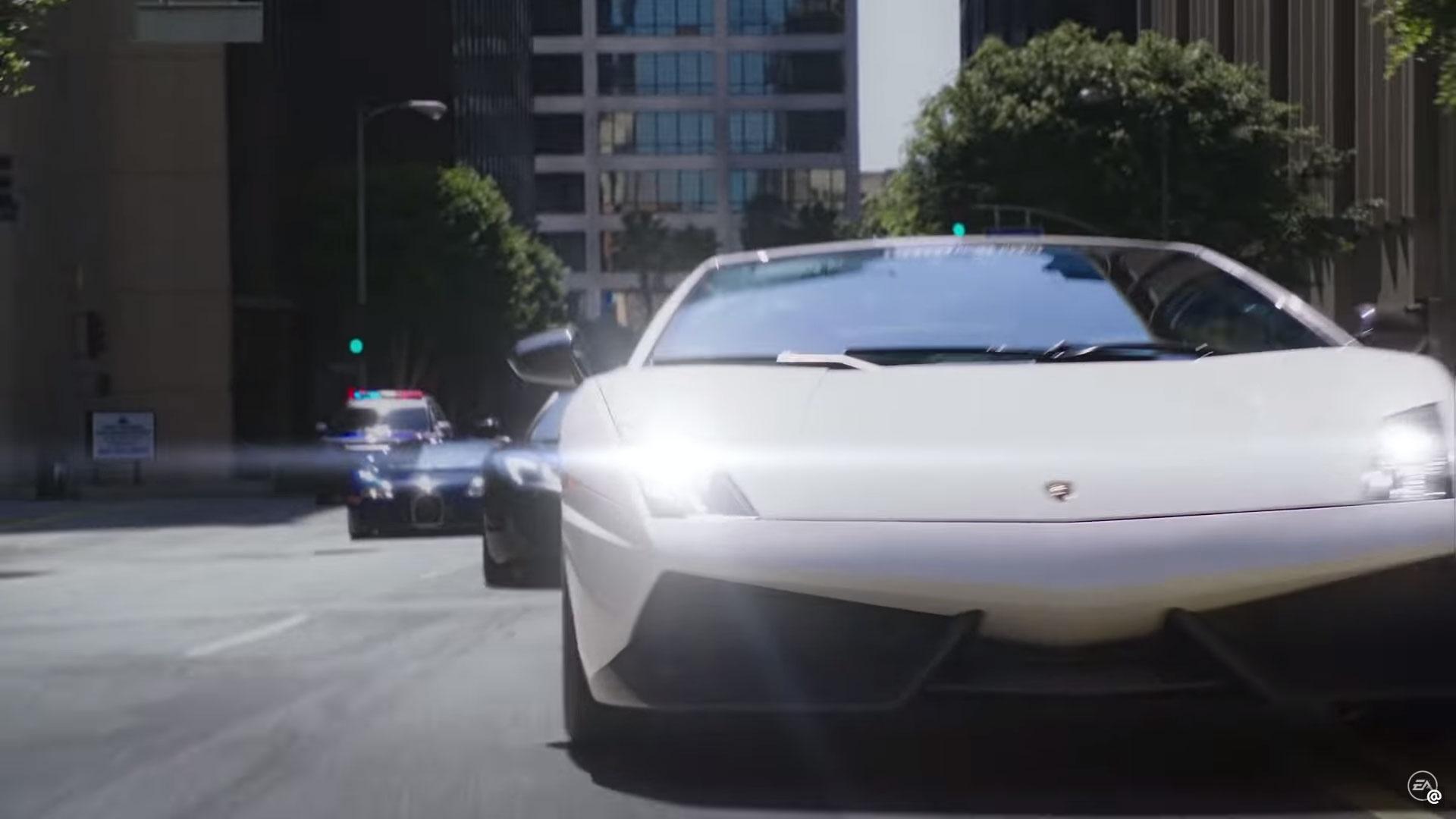 Gallardo Veyron straatrace