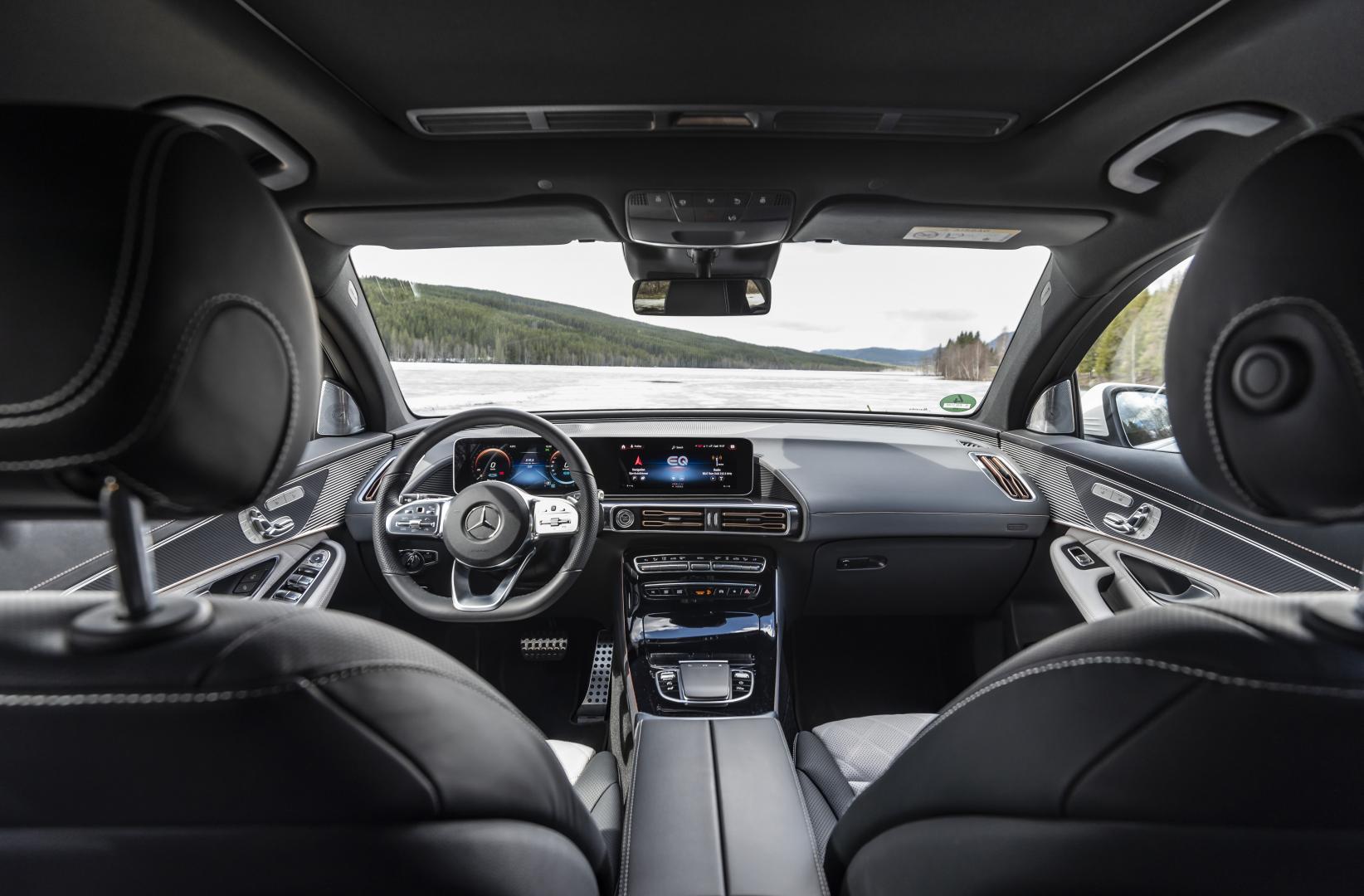 Mercedes EQC 2019 interieur dashboard