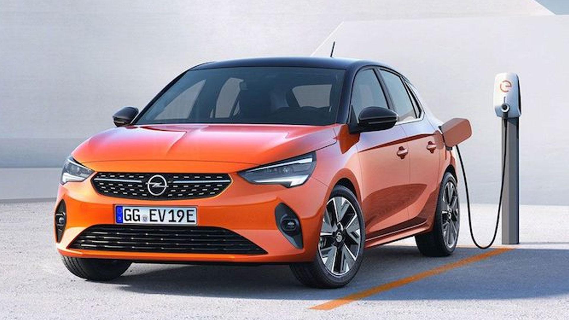 Nieuwe Opel Corsa D 2019 laadpaal