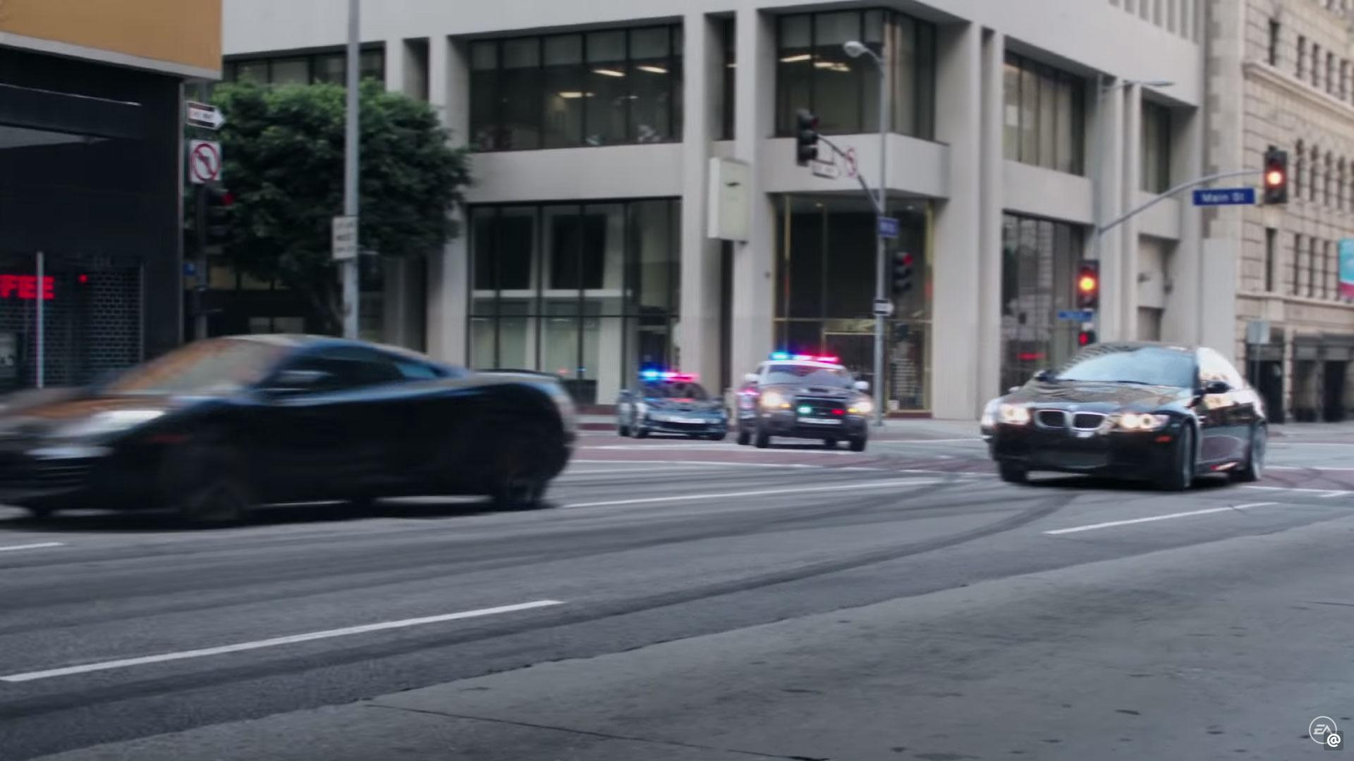 Politie Amerika straatrace achtervolging