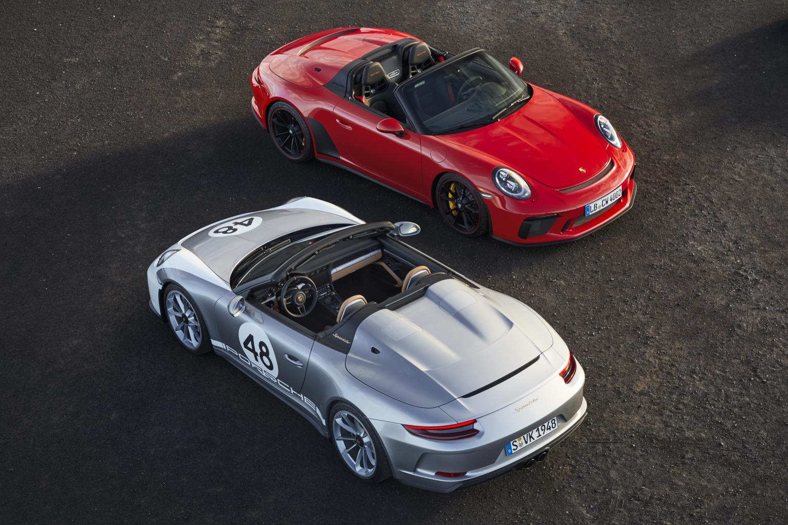Porsche 911 Speedster en Heritage Edition