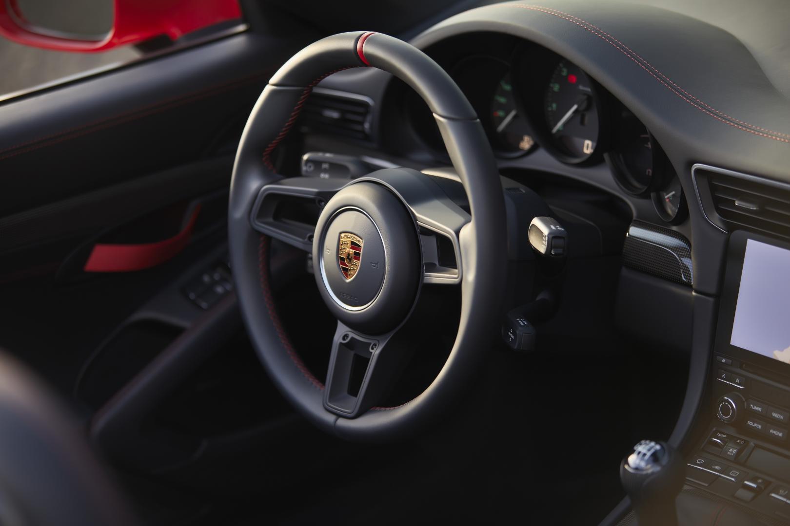 Porsche 911 Speedster interieur 2019