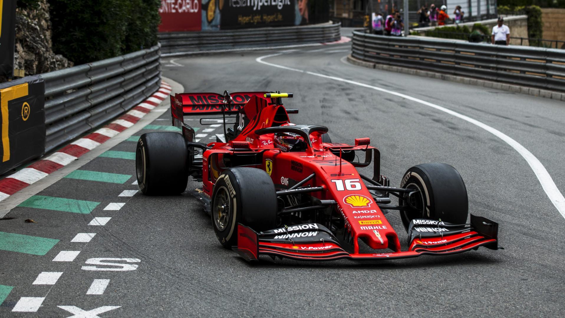 Scuderia Ferrari F1 Mission Winnow MOnaco