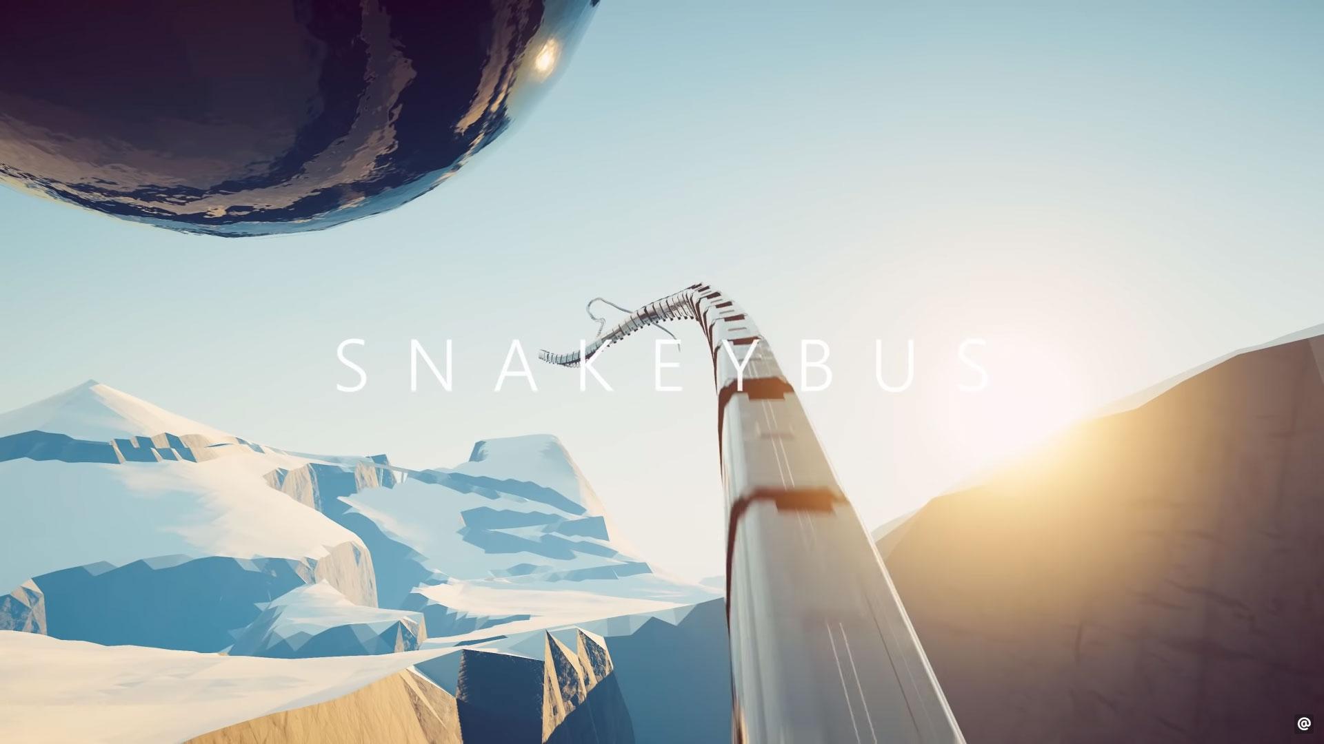 Snakeybus 3D snake
