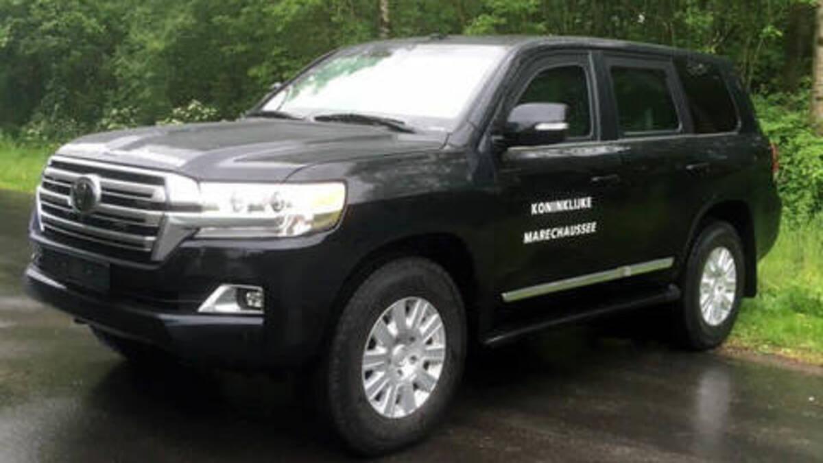 Toyota Land Cruiser Marechaussee Defensie