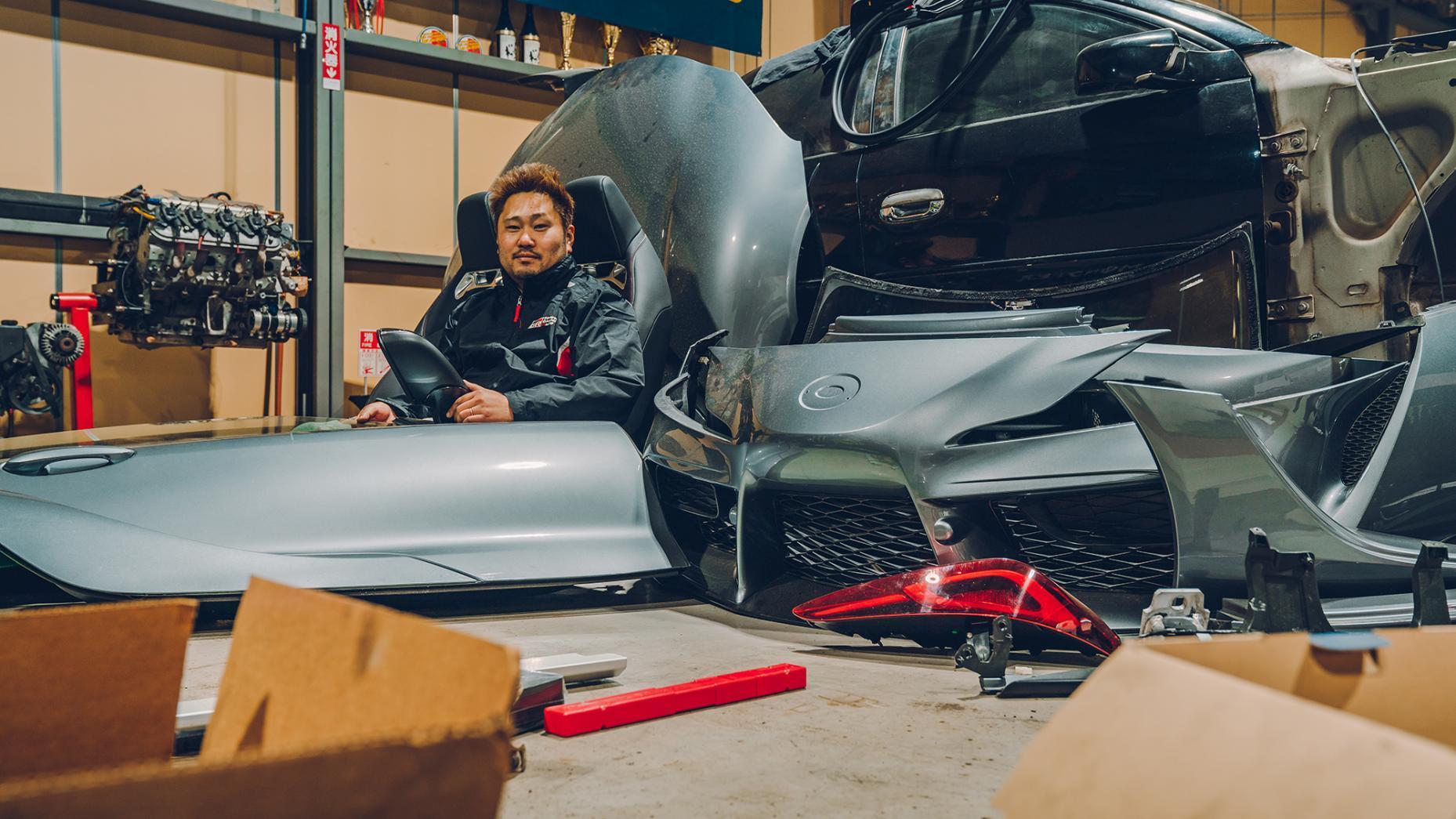 Toyota Supra Bumpers Daigo Saito Fat Five Racing