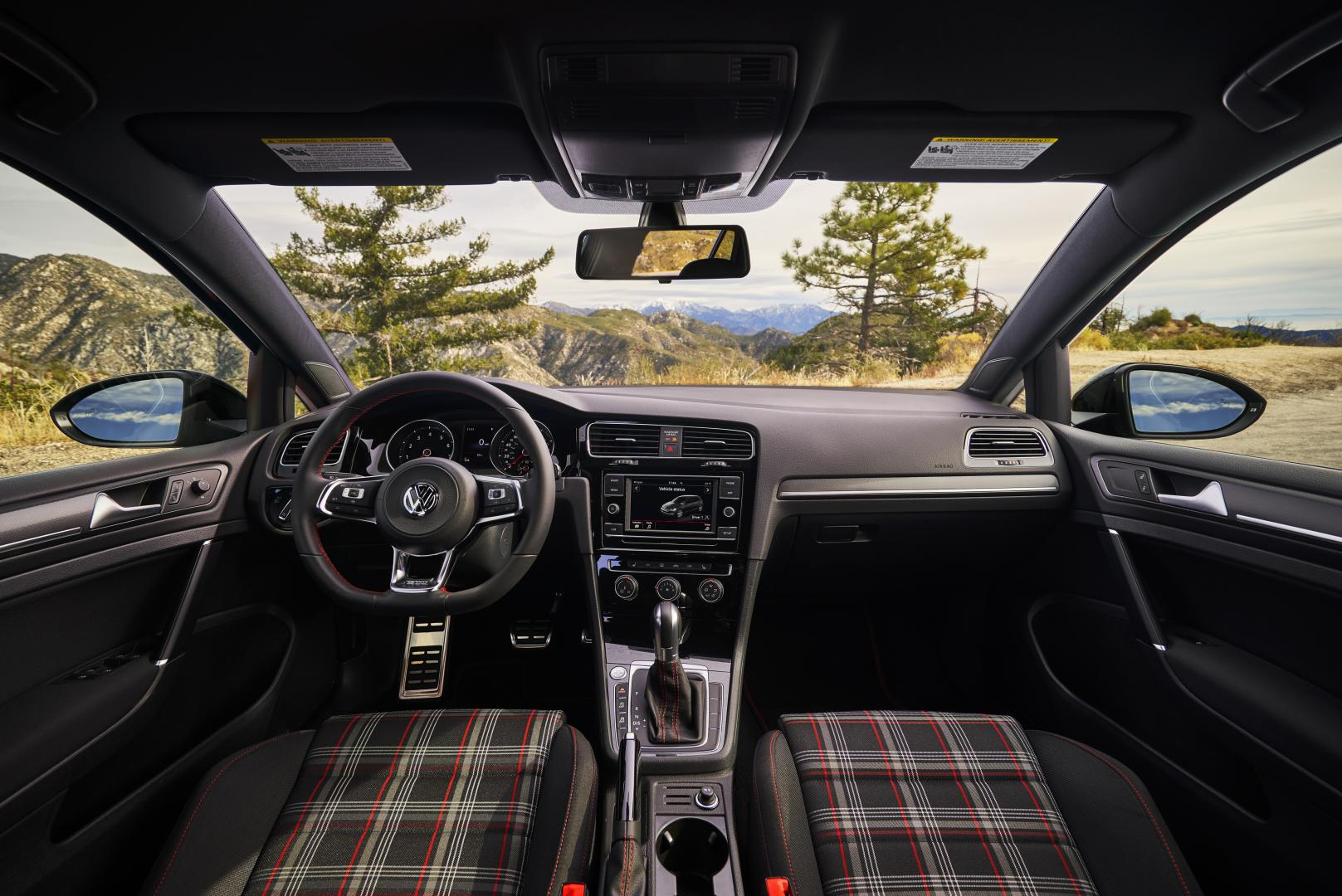 Volkswagen Golf GTI Rabbit Edition VS interieur tartan ruitjes clark