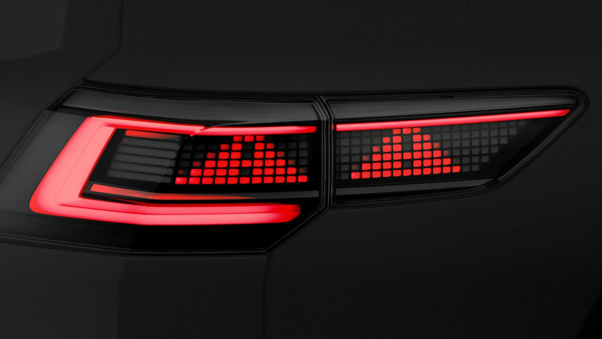 Interactieve achterlichten Volkswagen