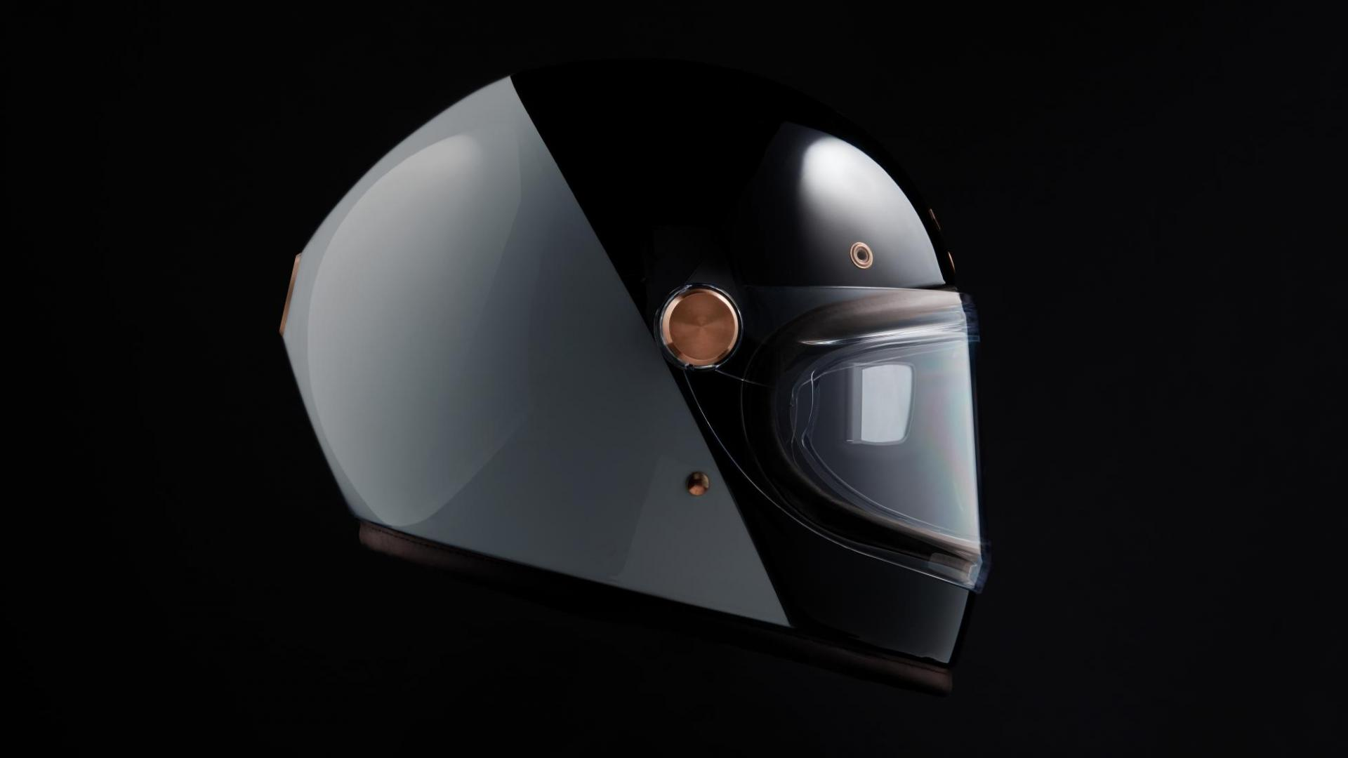 Arc Vector helm zijkant