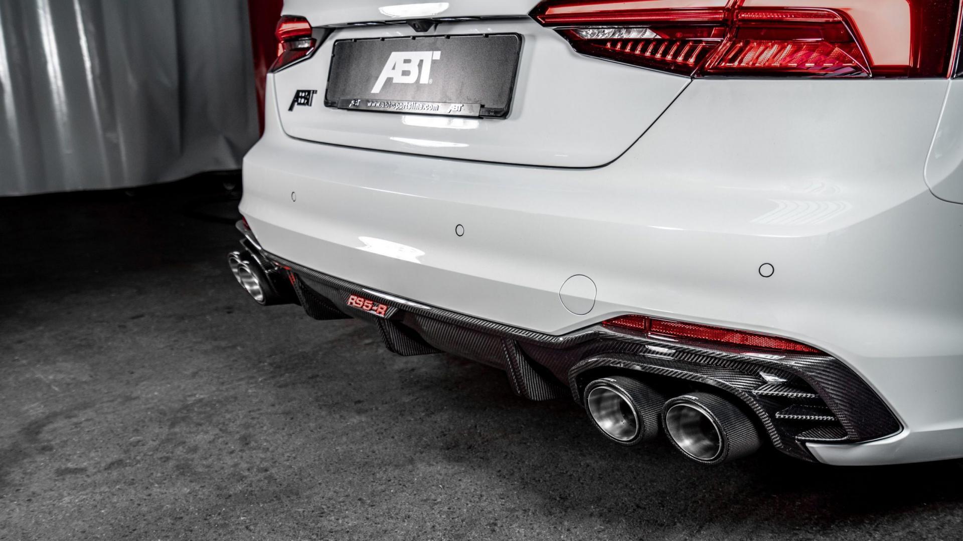 Abt Audi RS5-R Sportback uitlaat