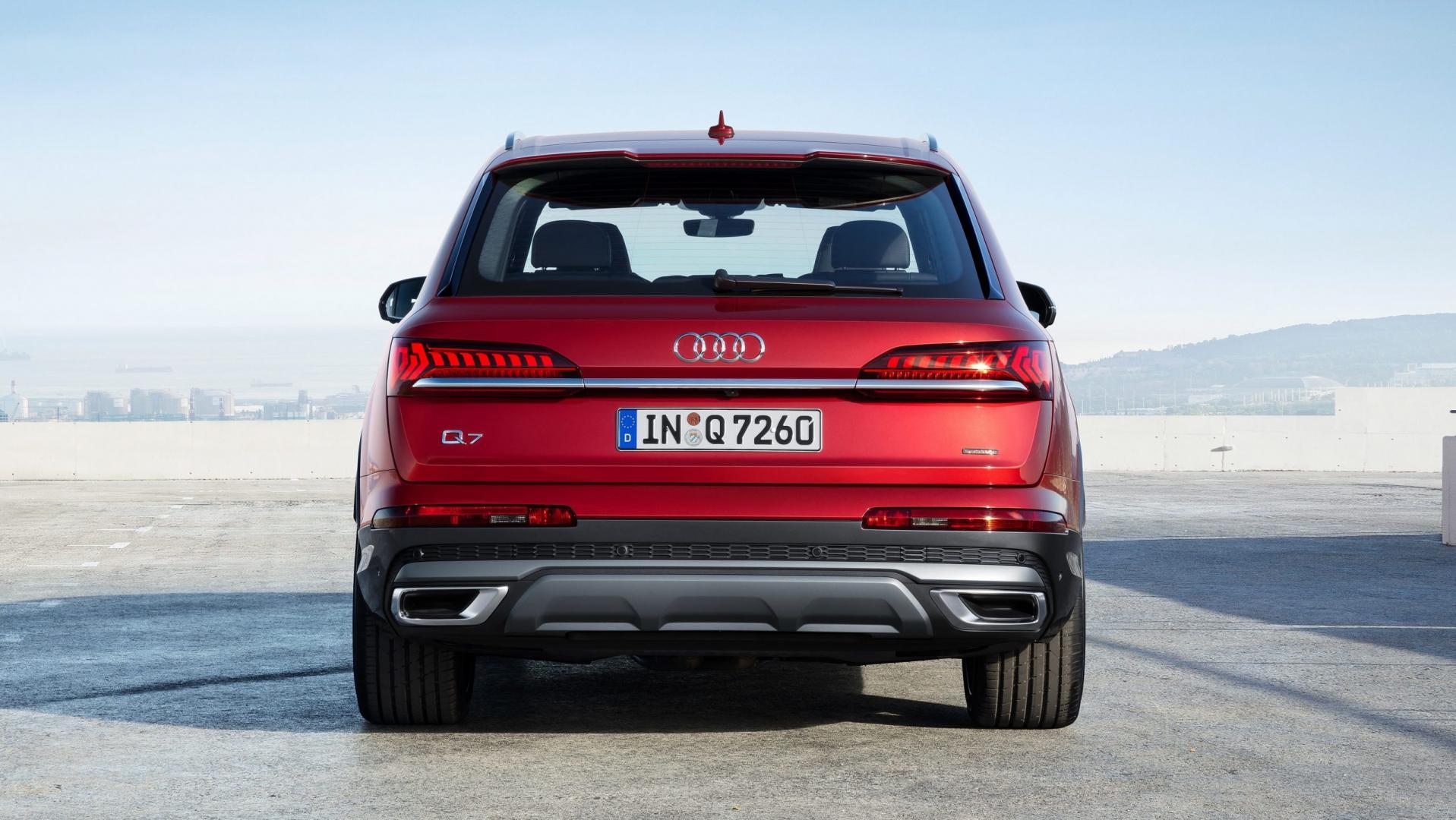 Audi Q7-facelift 2019 Matador red
