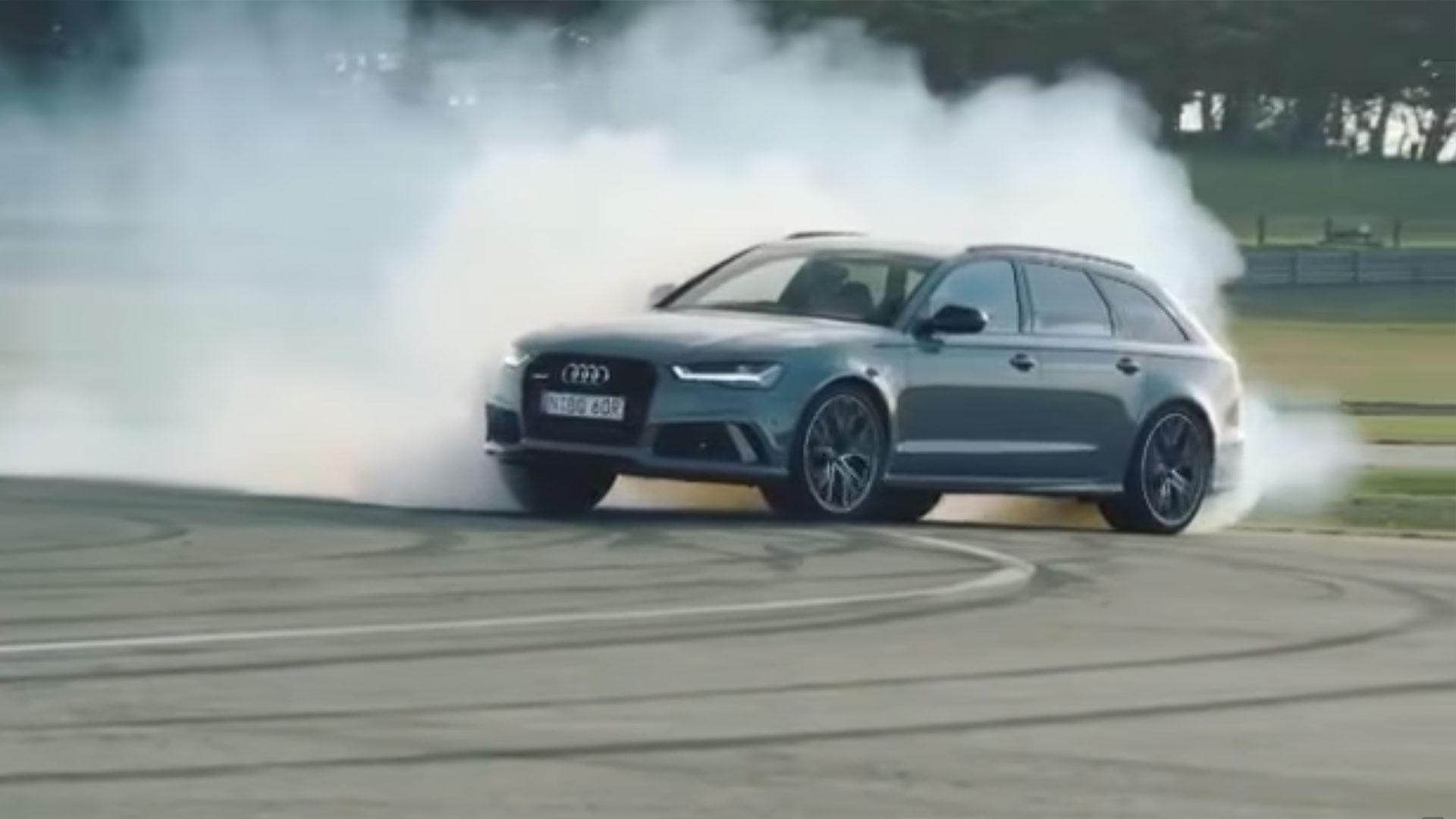 Audi rs6 drift