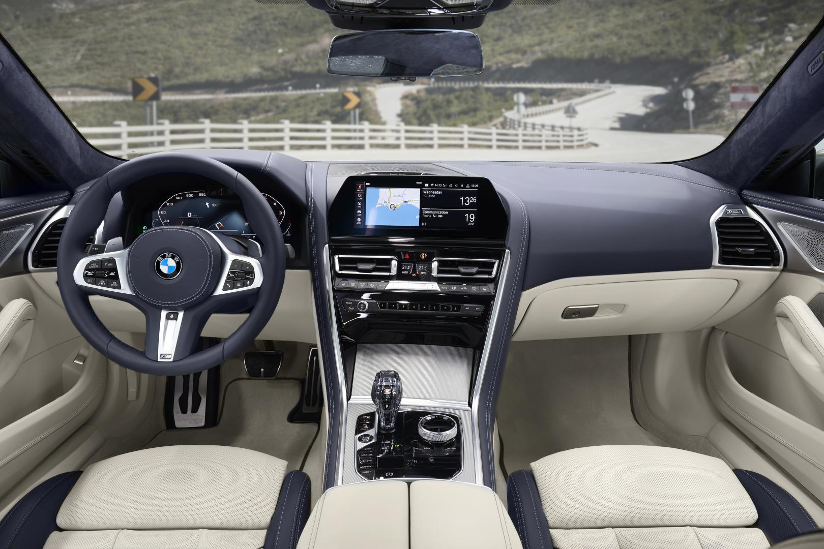 dashboard BMW 8-serie gran coupe