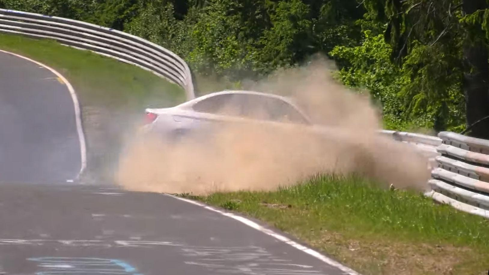 BMW M2 Competition crasht