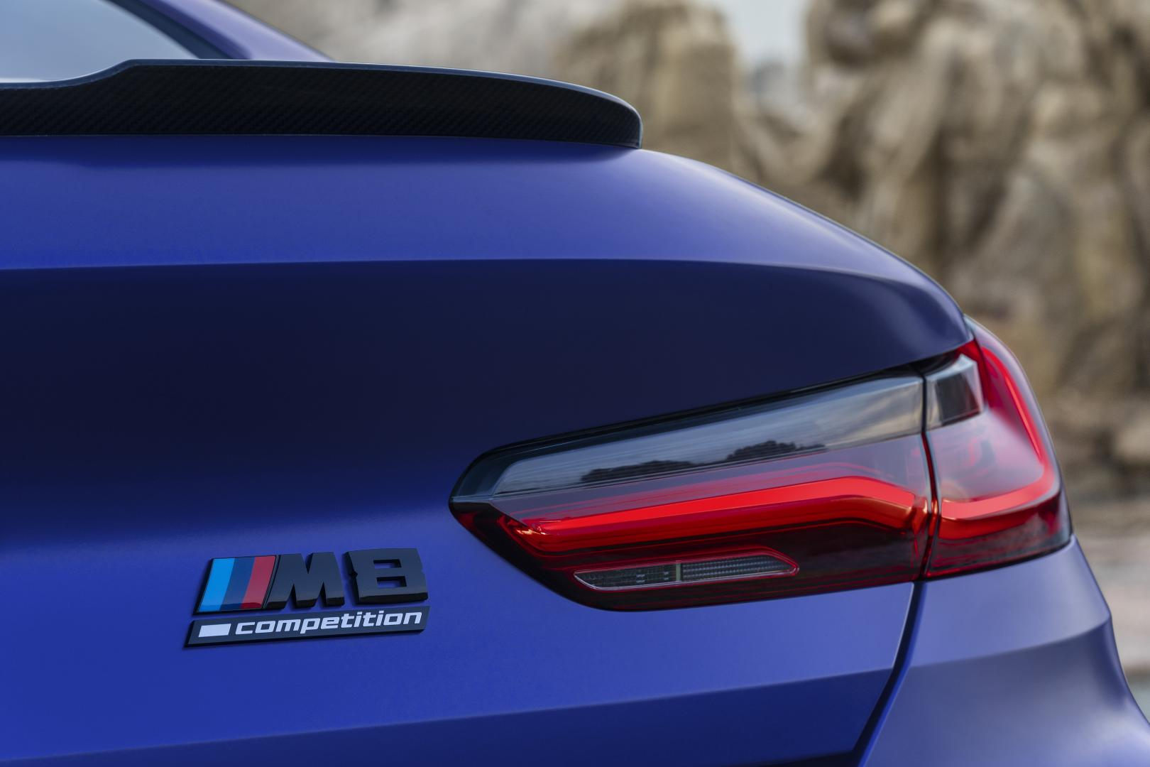 BMW M8 badge