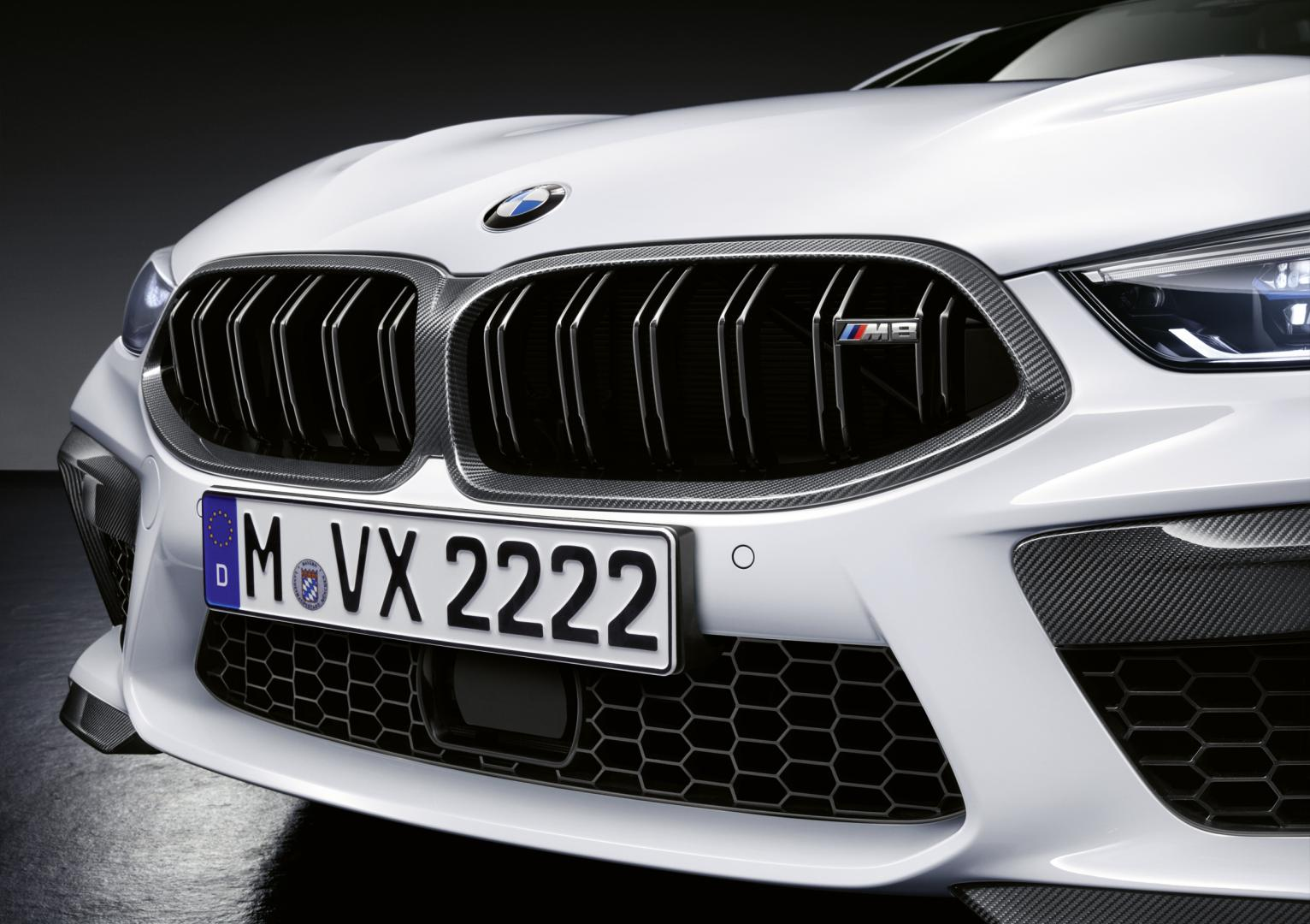 BMW M8 M Performance grille nieren