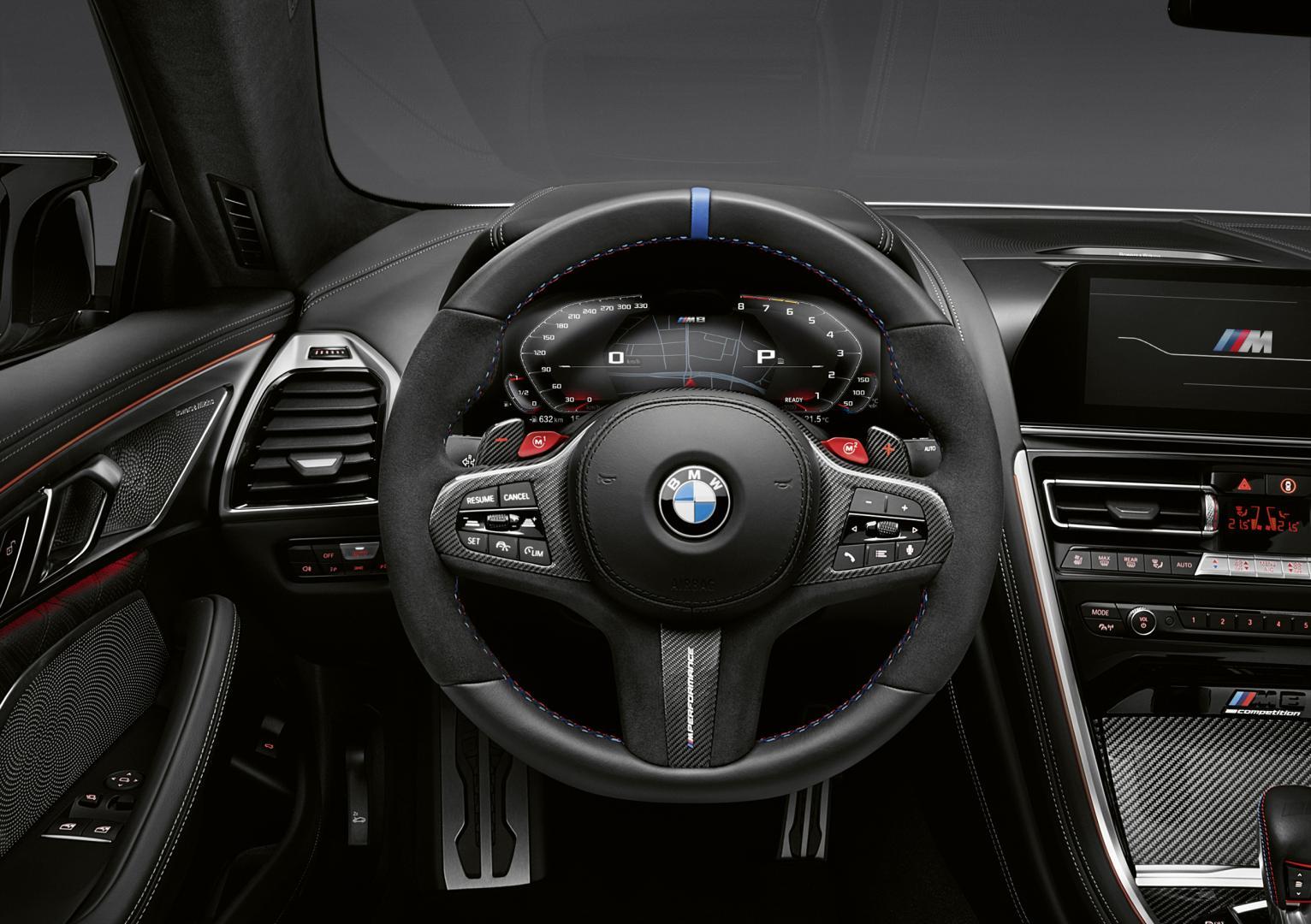 BMW M8 M Performance Parts stuur